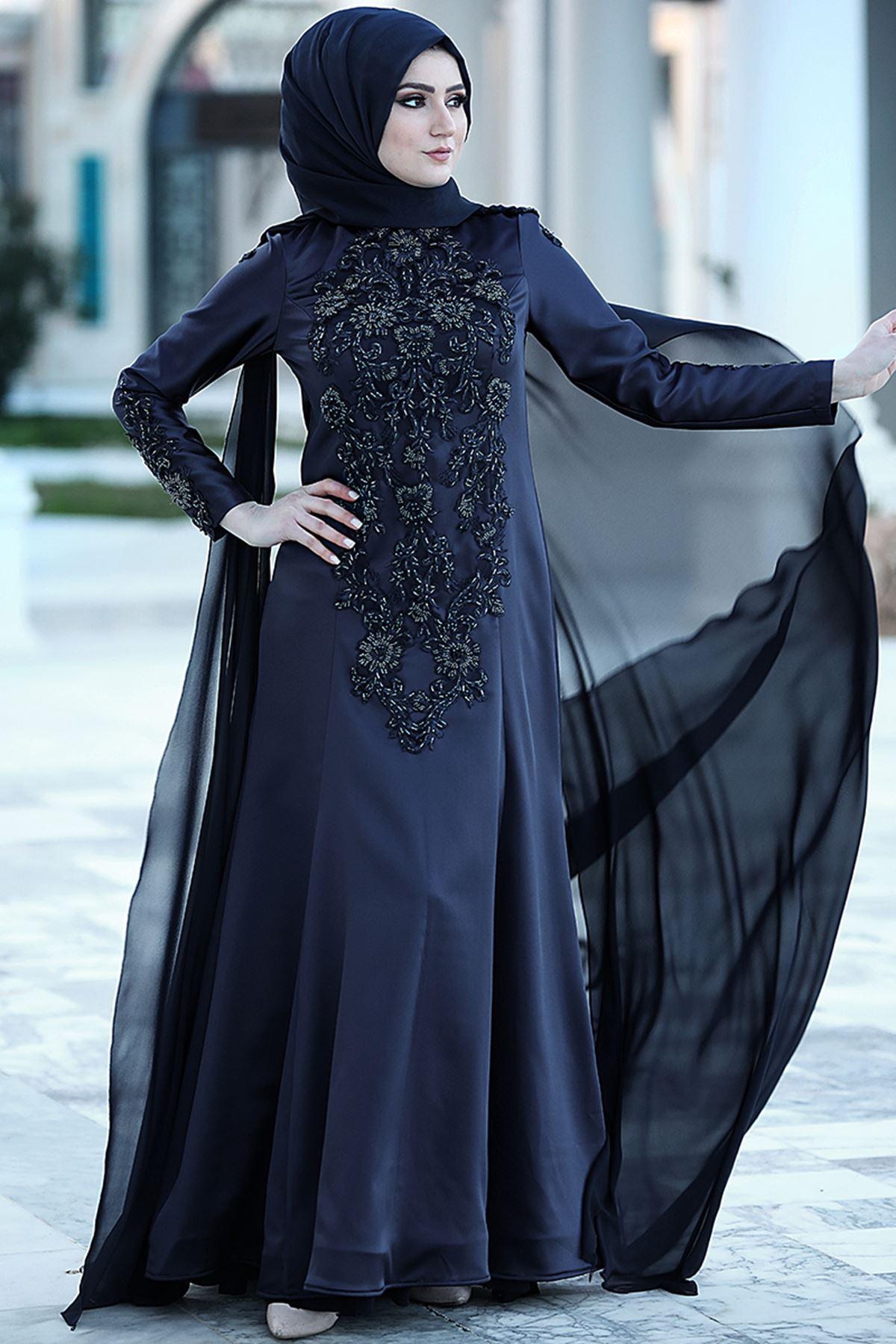 Nurgül Çakır - Mila Abiye Lacivert