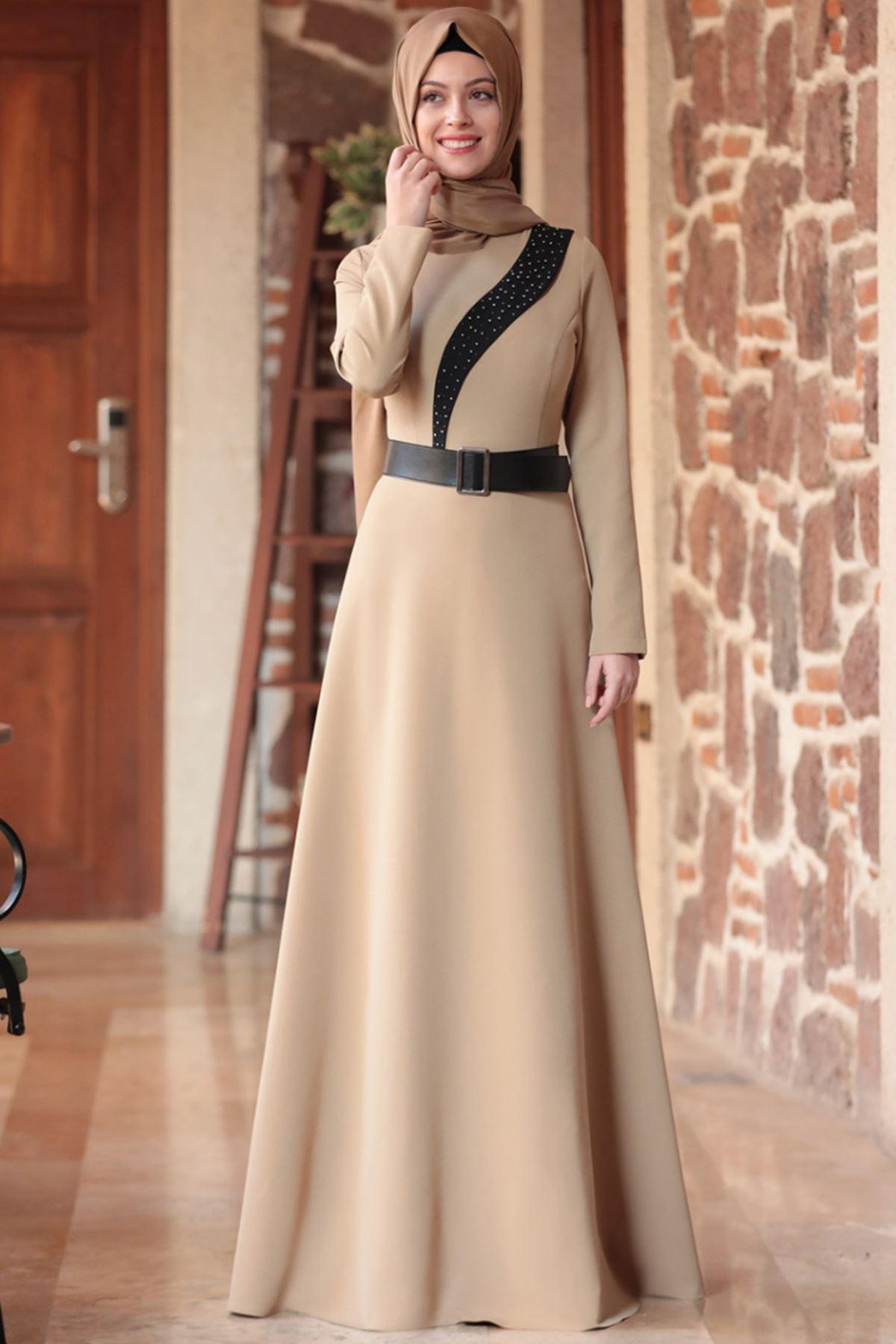 Semra Aydın - Nare Elbise Vizon