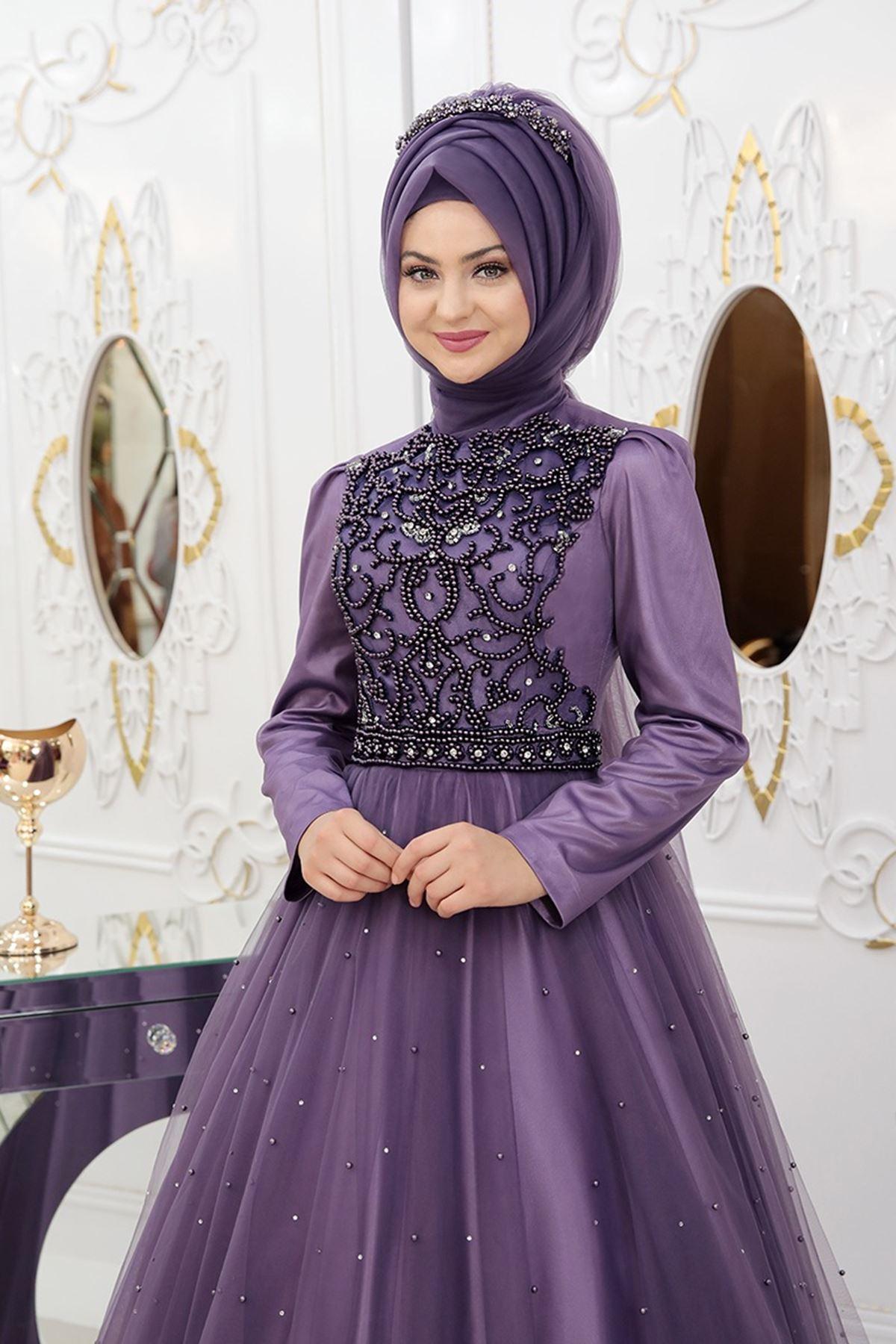 Pınar Şems - Prenses Abiye Leylak