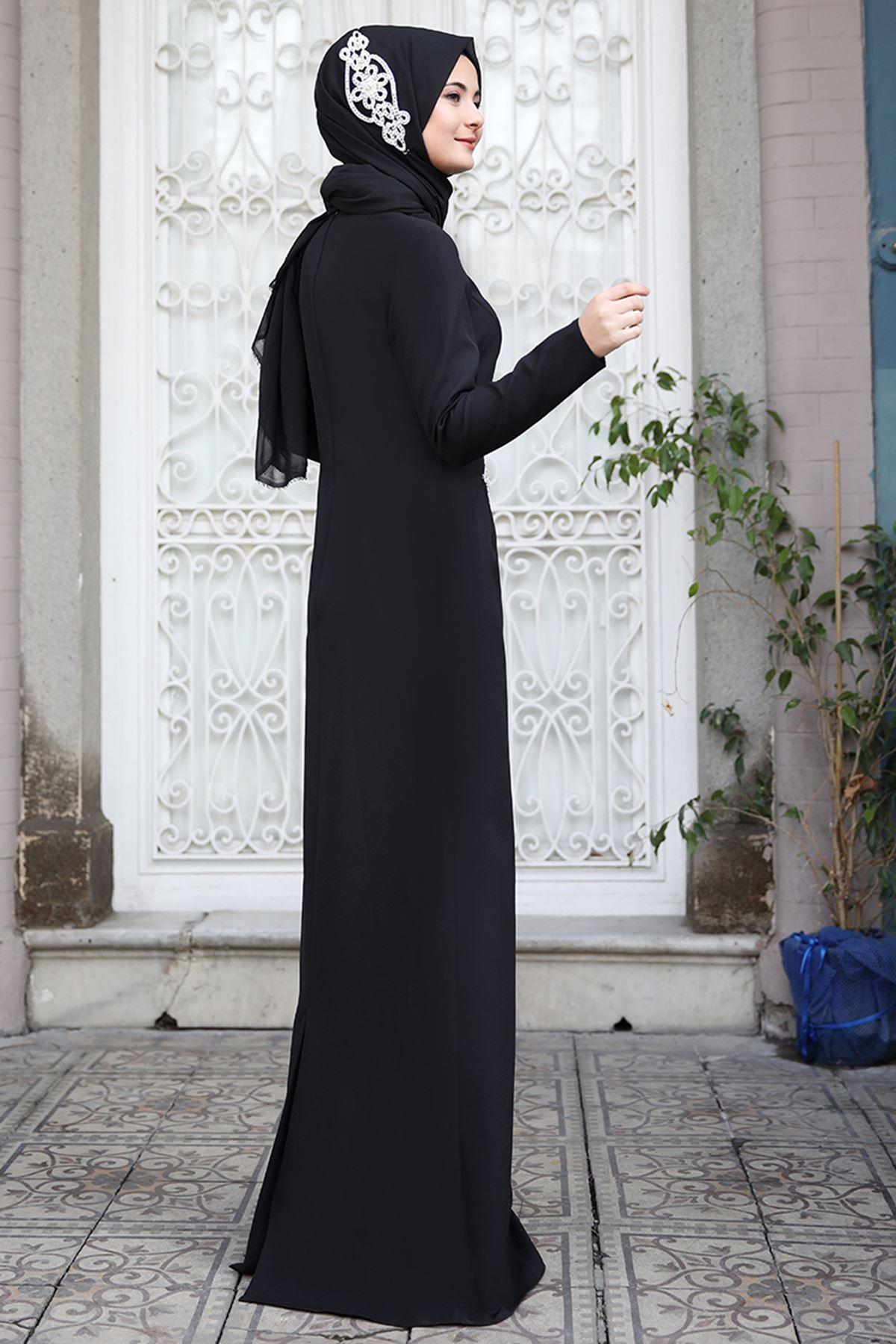 Sümay Mihrimah Abiye Siyah