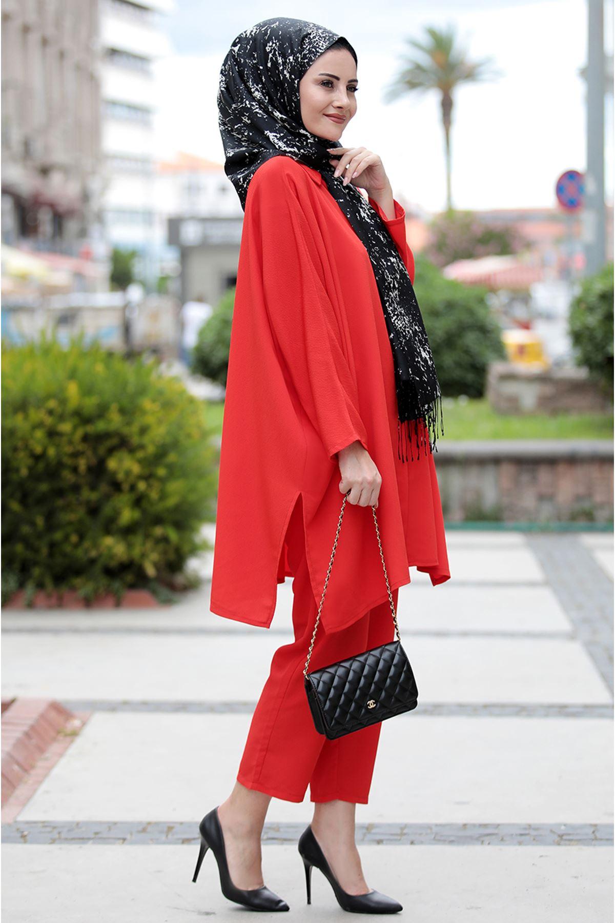 Seda Tiryaki Şura İkili Takım Kırmızı