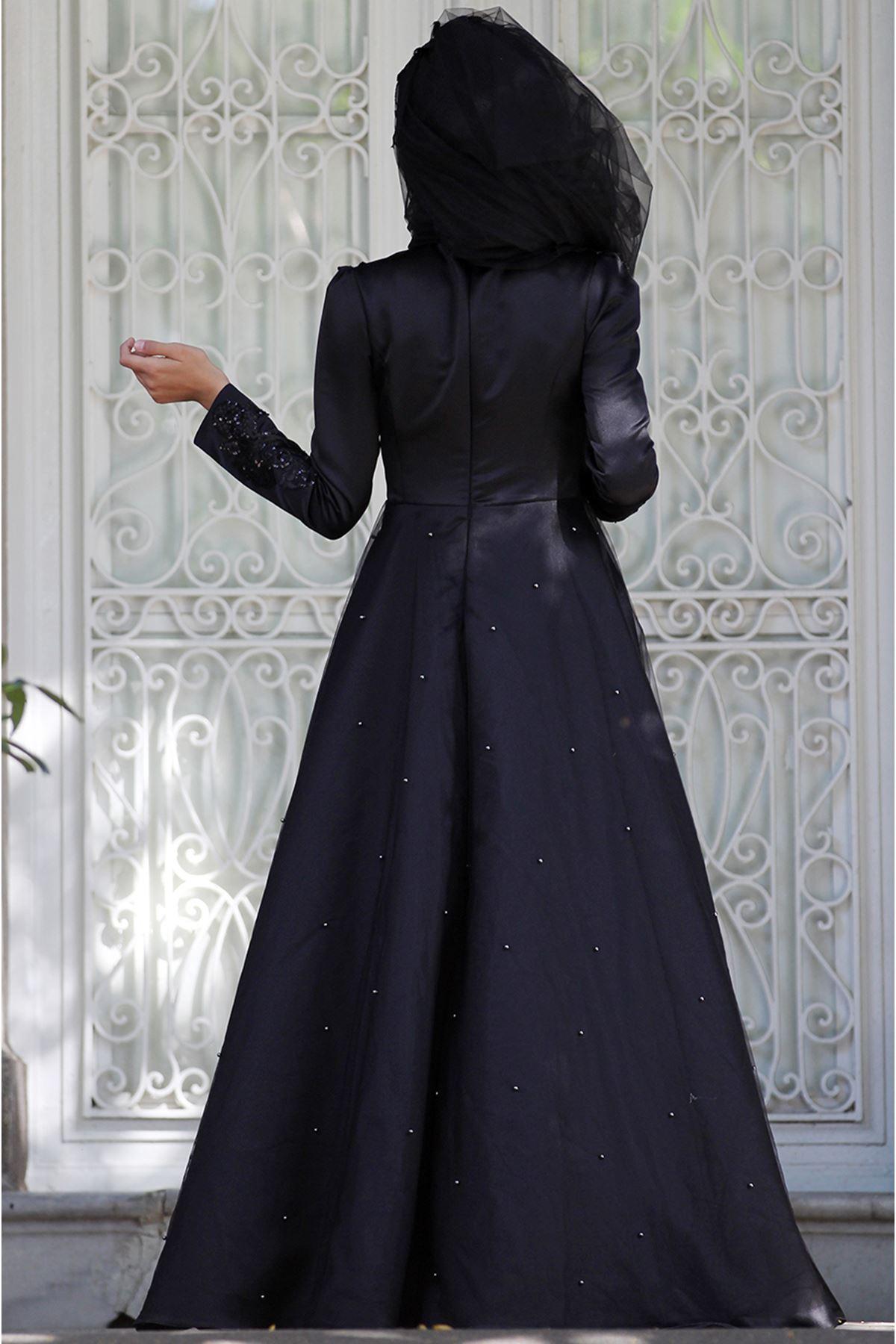 Sümay Aden Abiye Siyah
