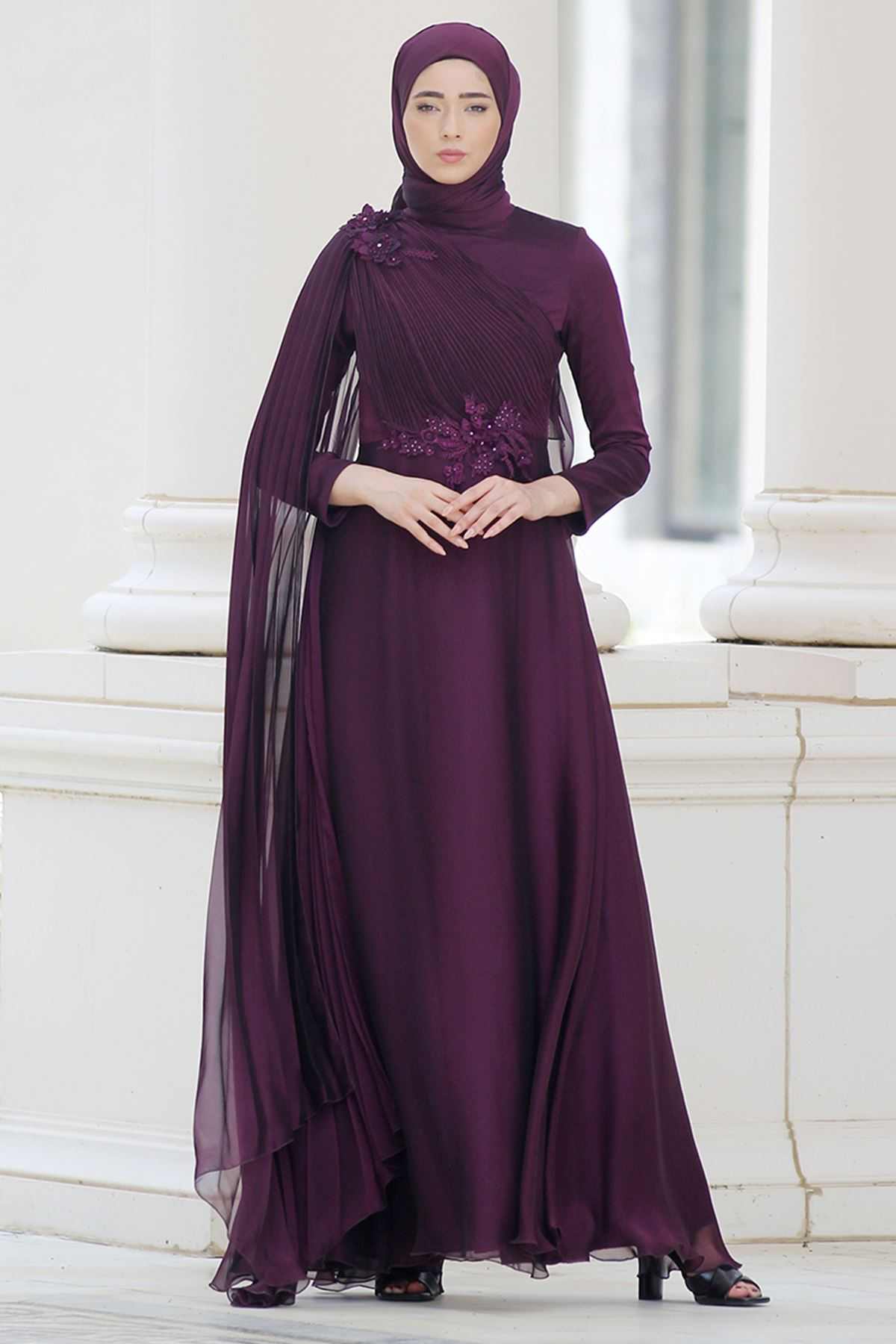 Nurbanu Kural - Alya Evening Purple