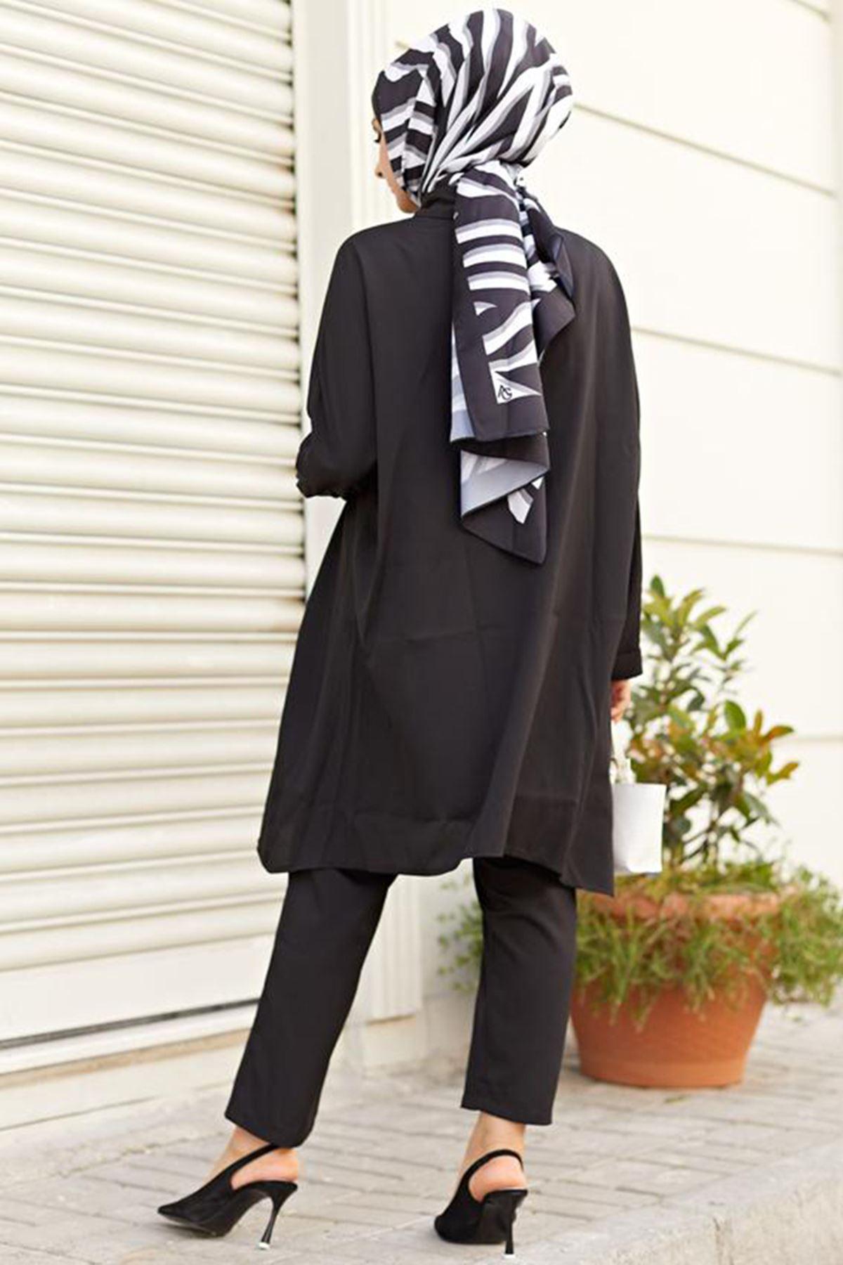 Hümeyra Arslan - Hüma İkili Takım Siyah