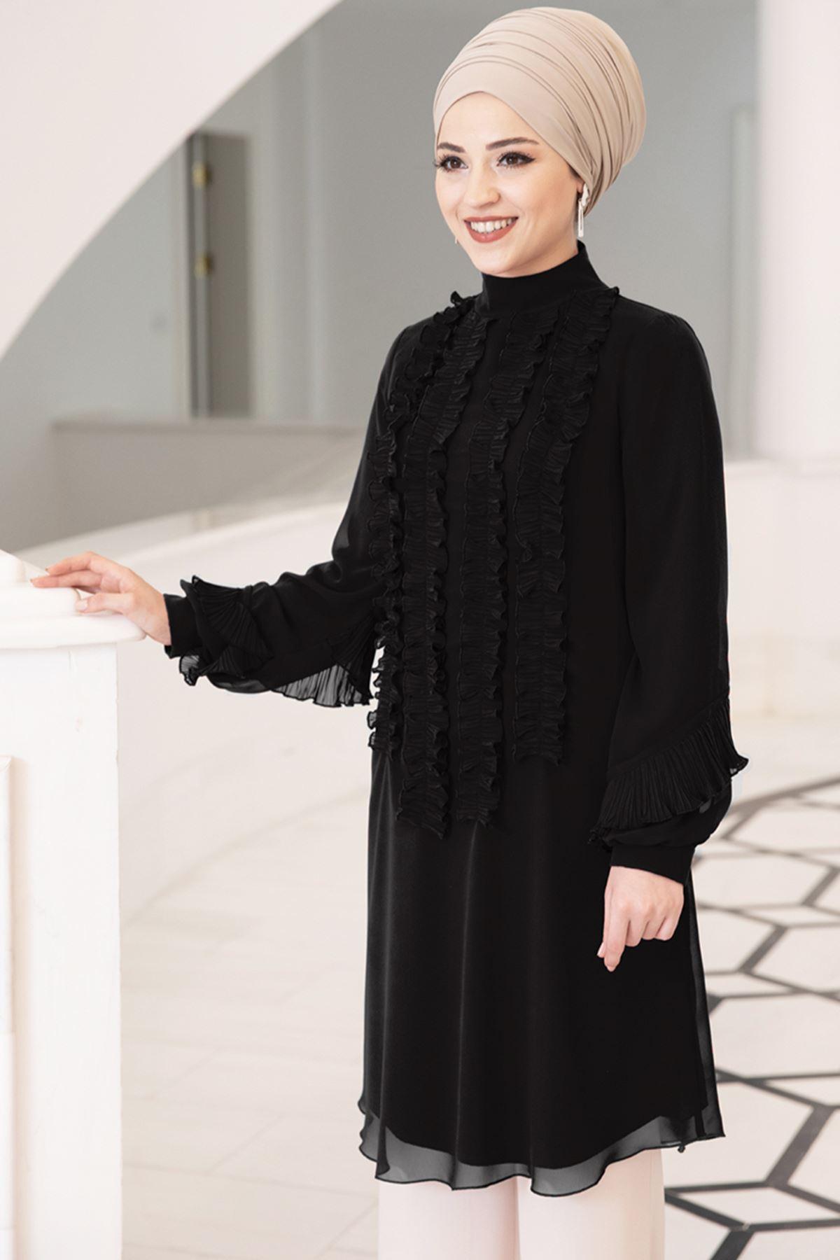 DressLife - Eylül Tunic Black