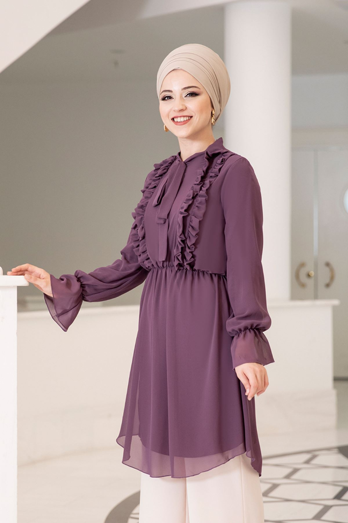 Dresslife - Love Tunik Mor