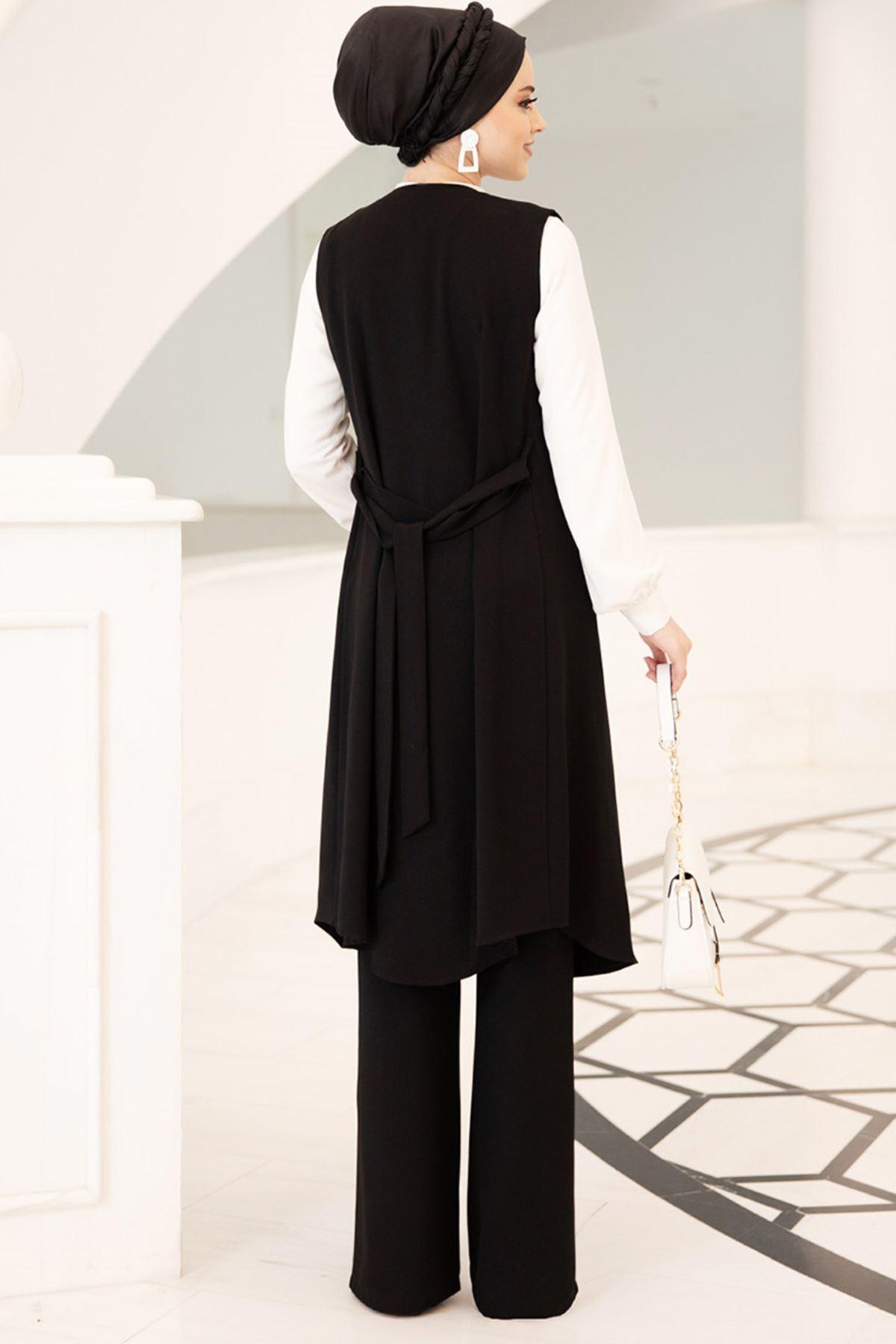 Dresslife - Elit Üçlü Takım Siyah