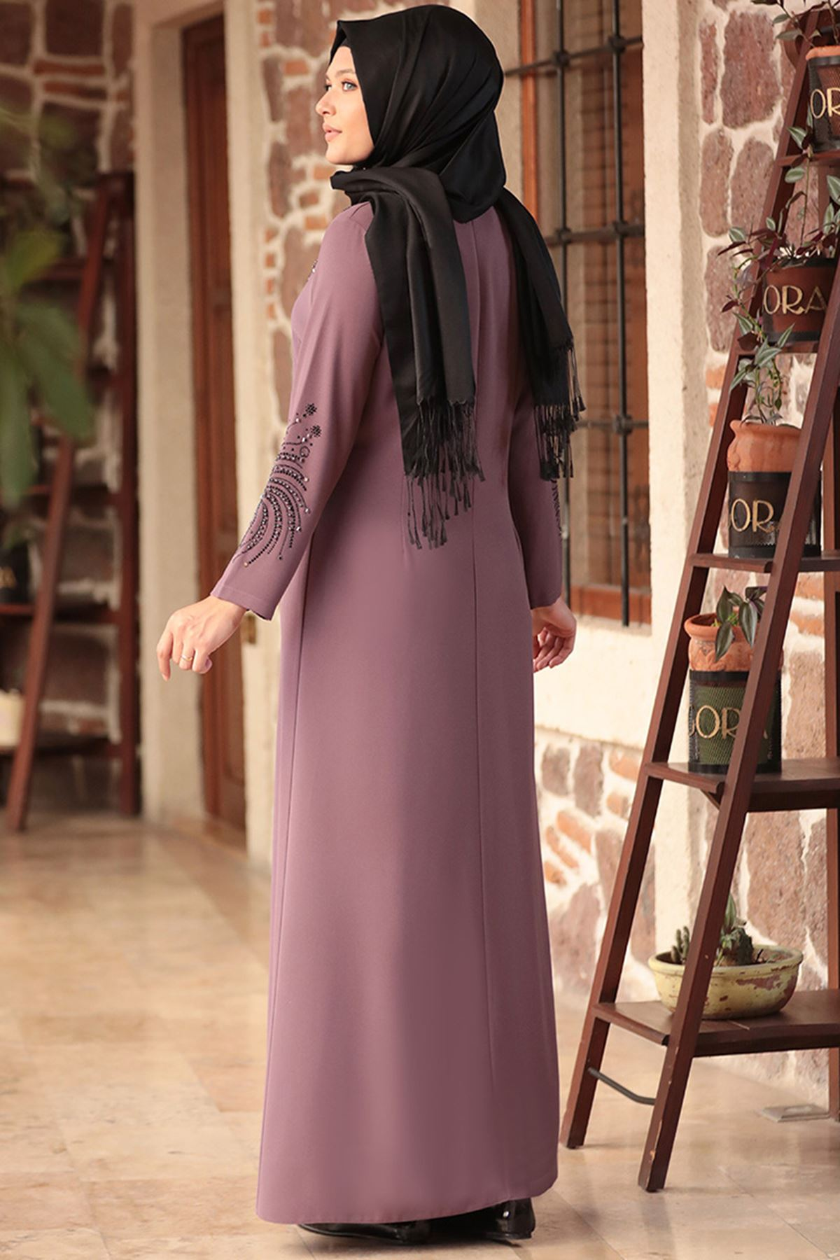 Amine Hüma - Sema Elbise Gül Kurusu AMİ1034
