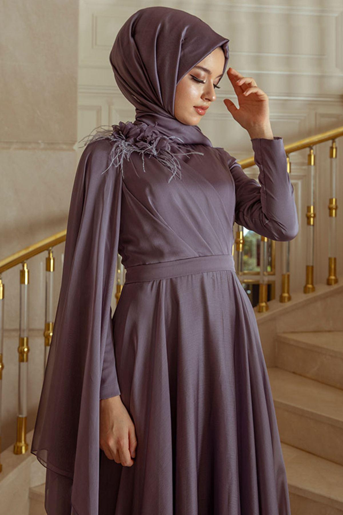 Pınar Şems Yaren Abiye Lila