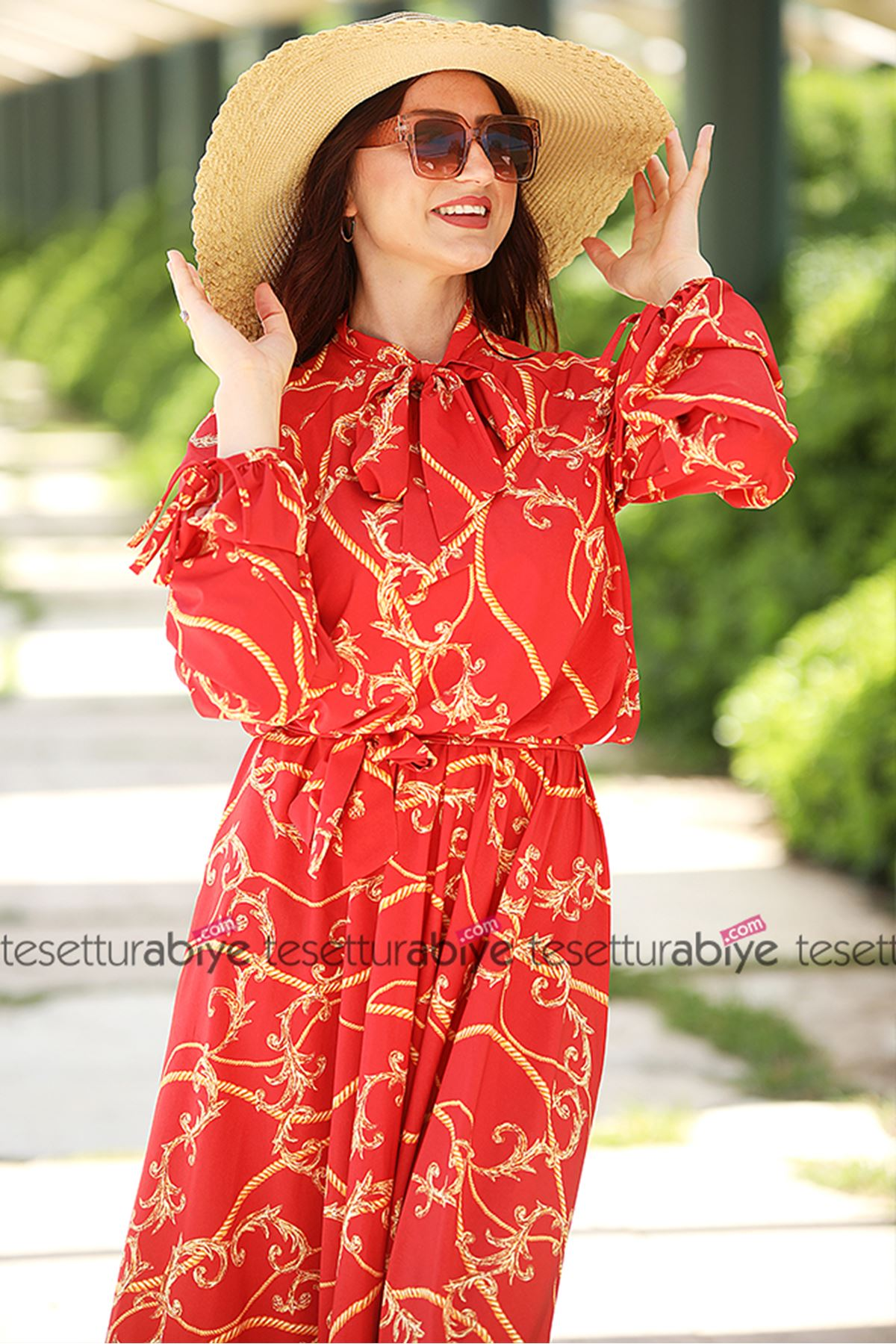 Halat Elbise Kırmızı