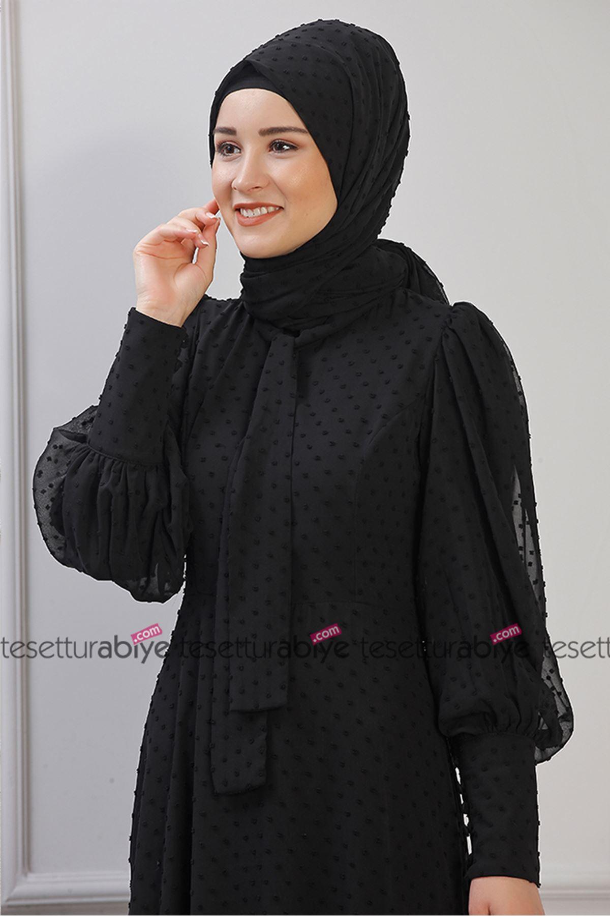 Işıl Elbise Siyah