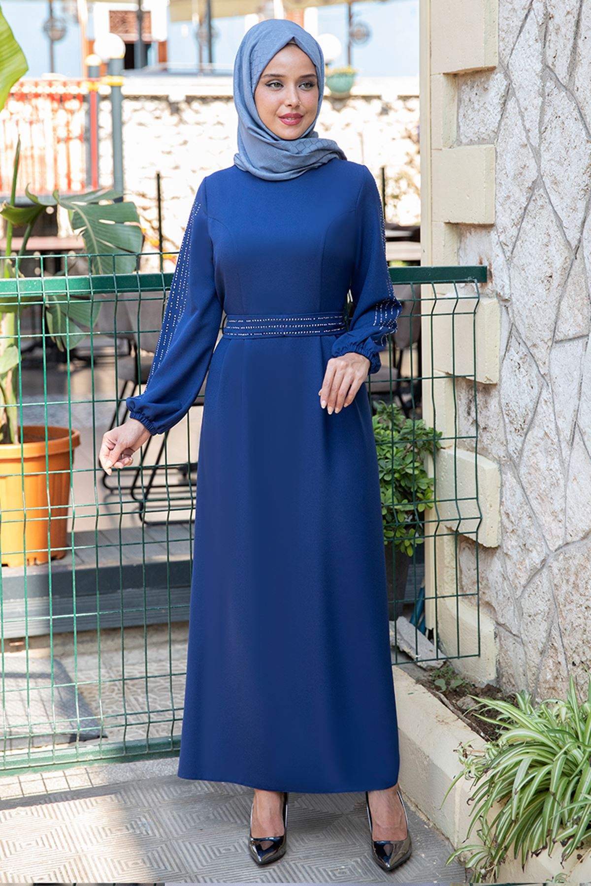 Havin Elbise İndigo