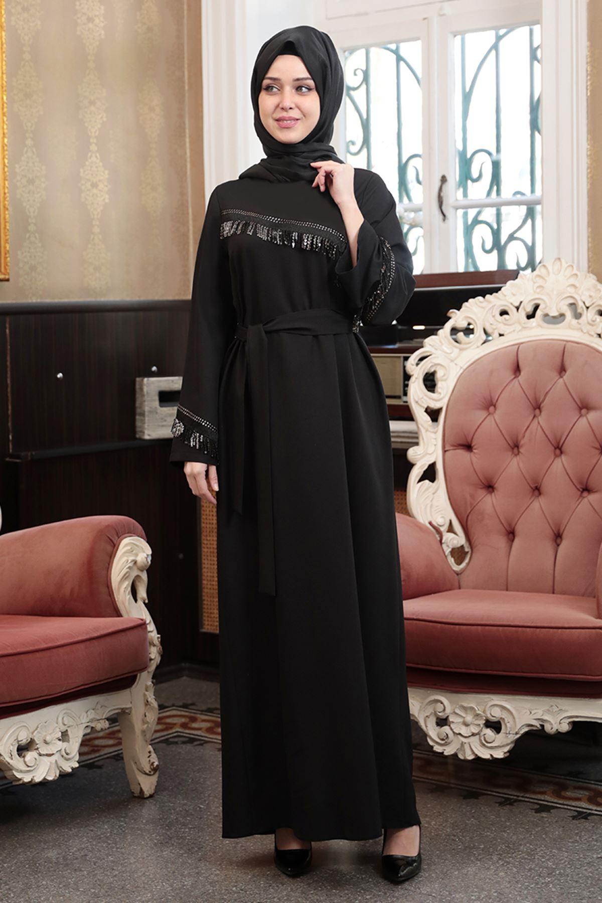 Sezen Elbise Siyah