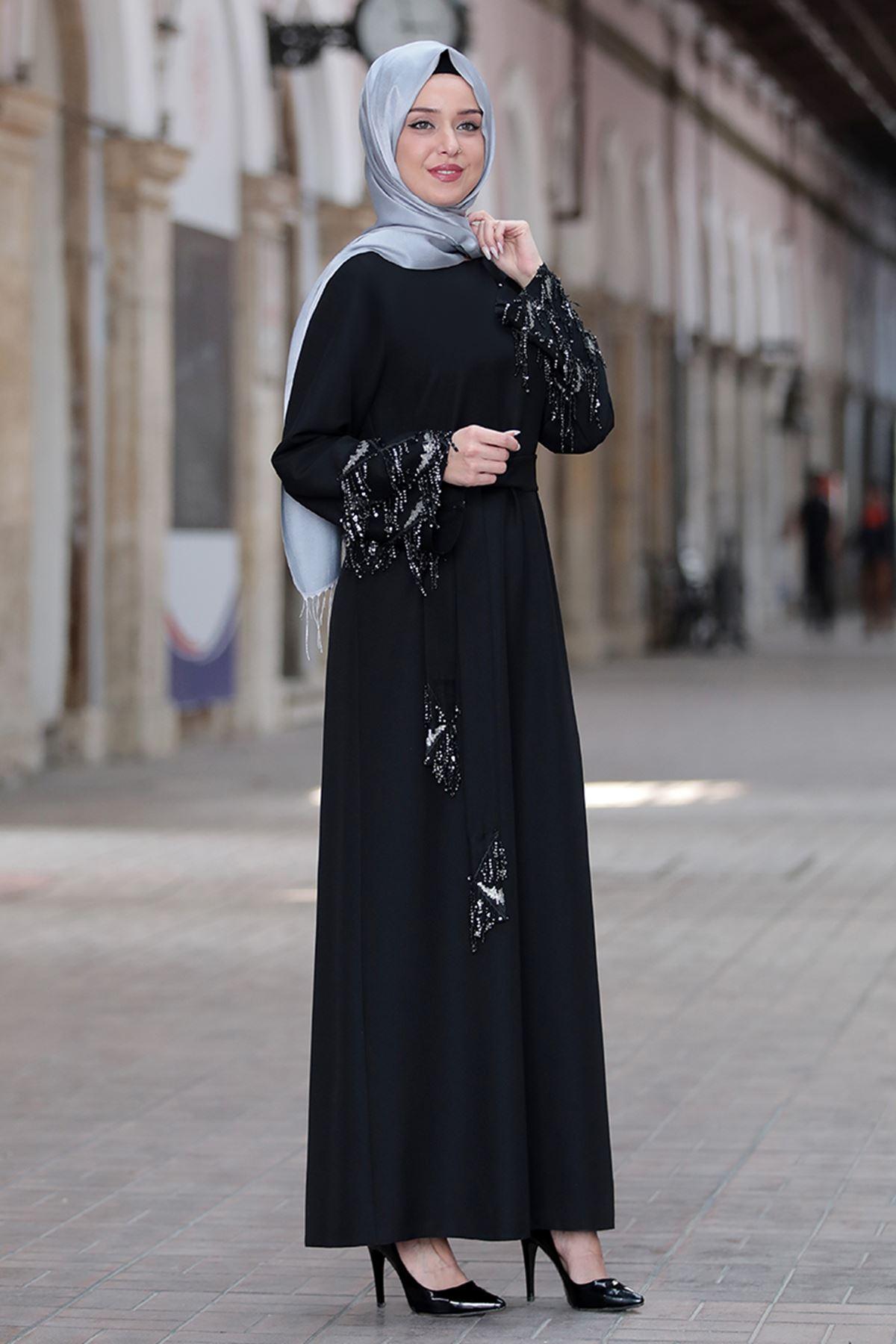Duru Elbise Siyah