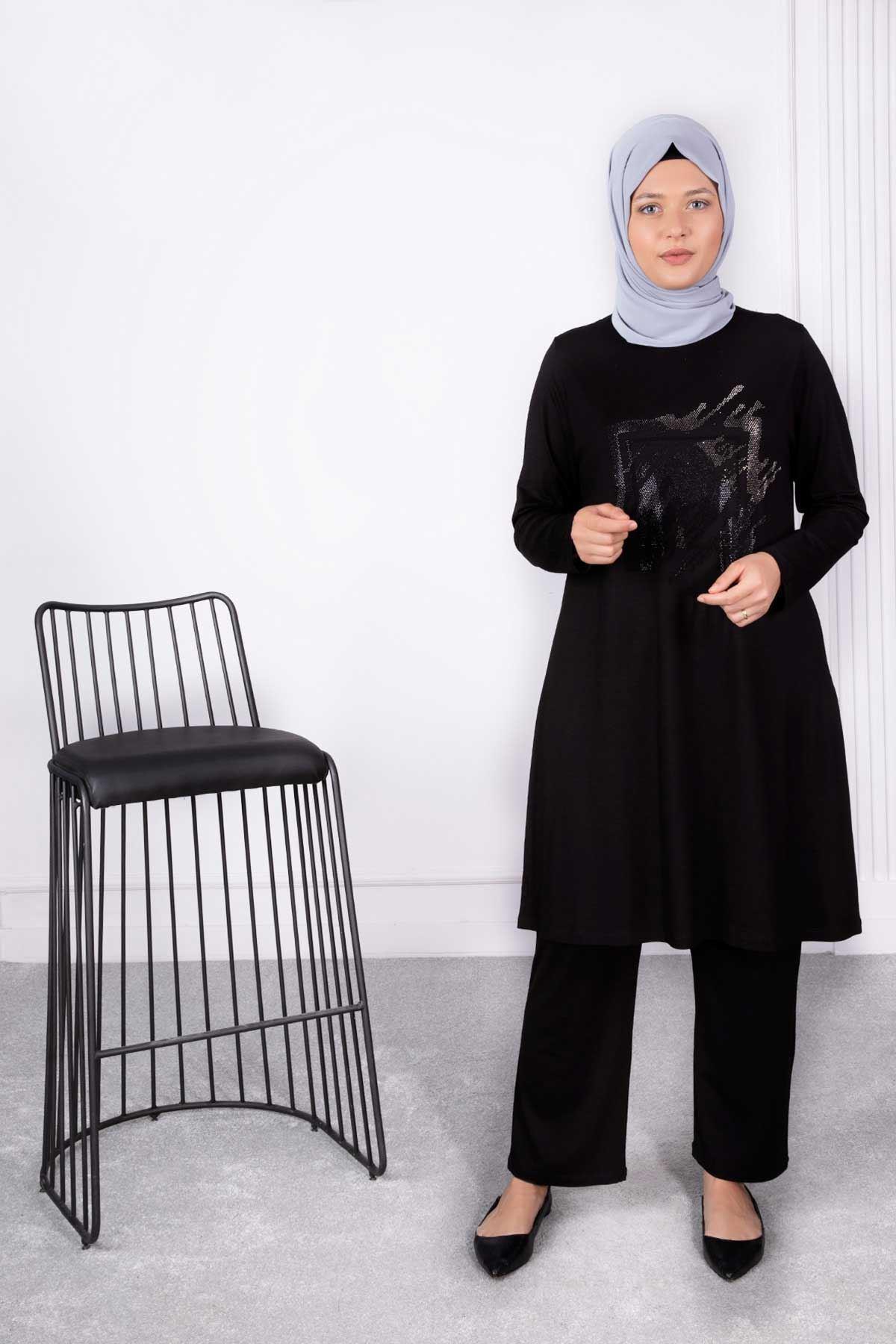 Zümra Tunik Siyah 20011