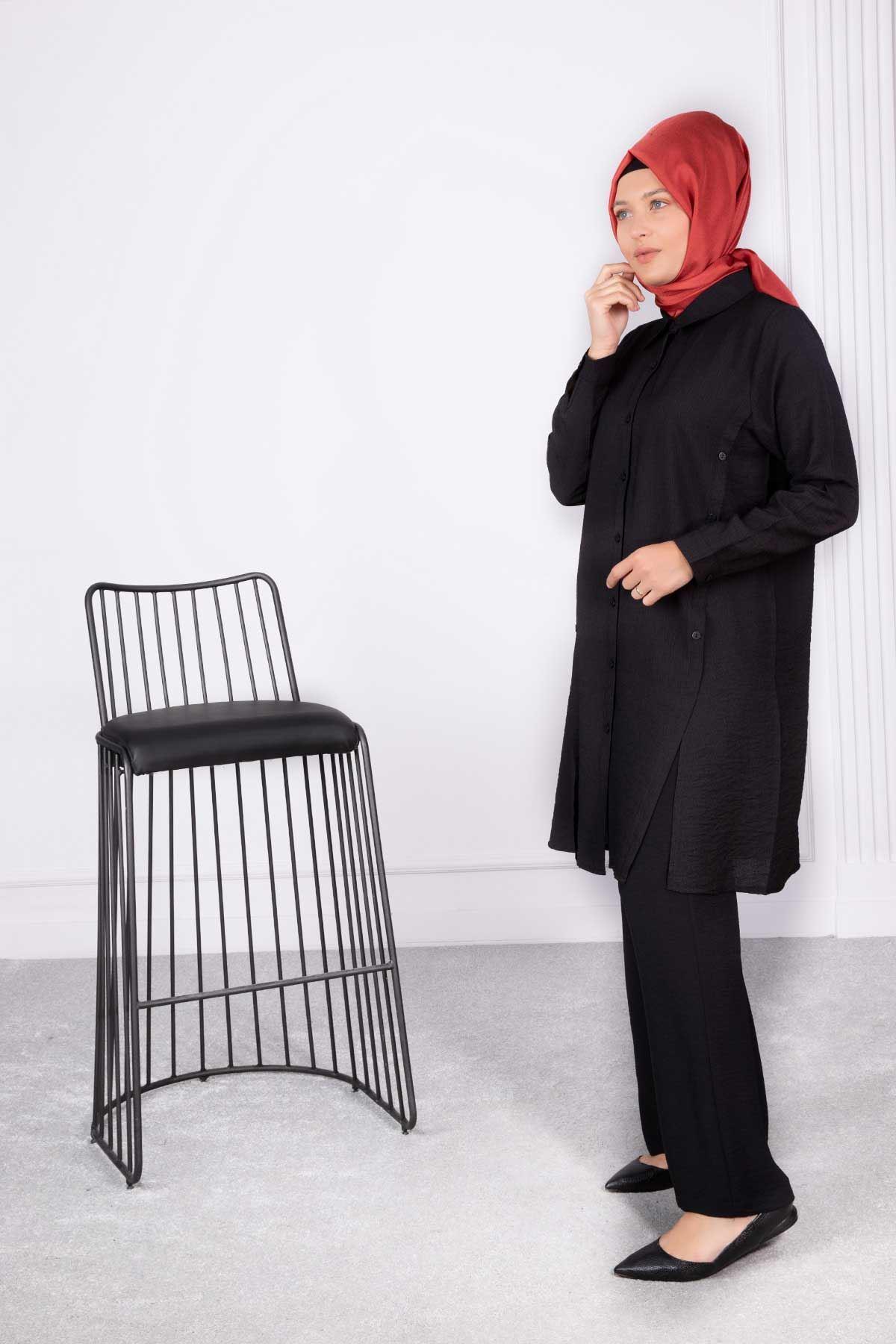 Berva Tunik Siyah 23008
