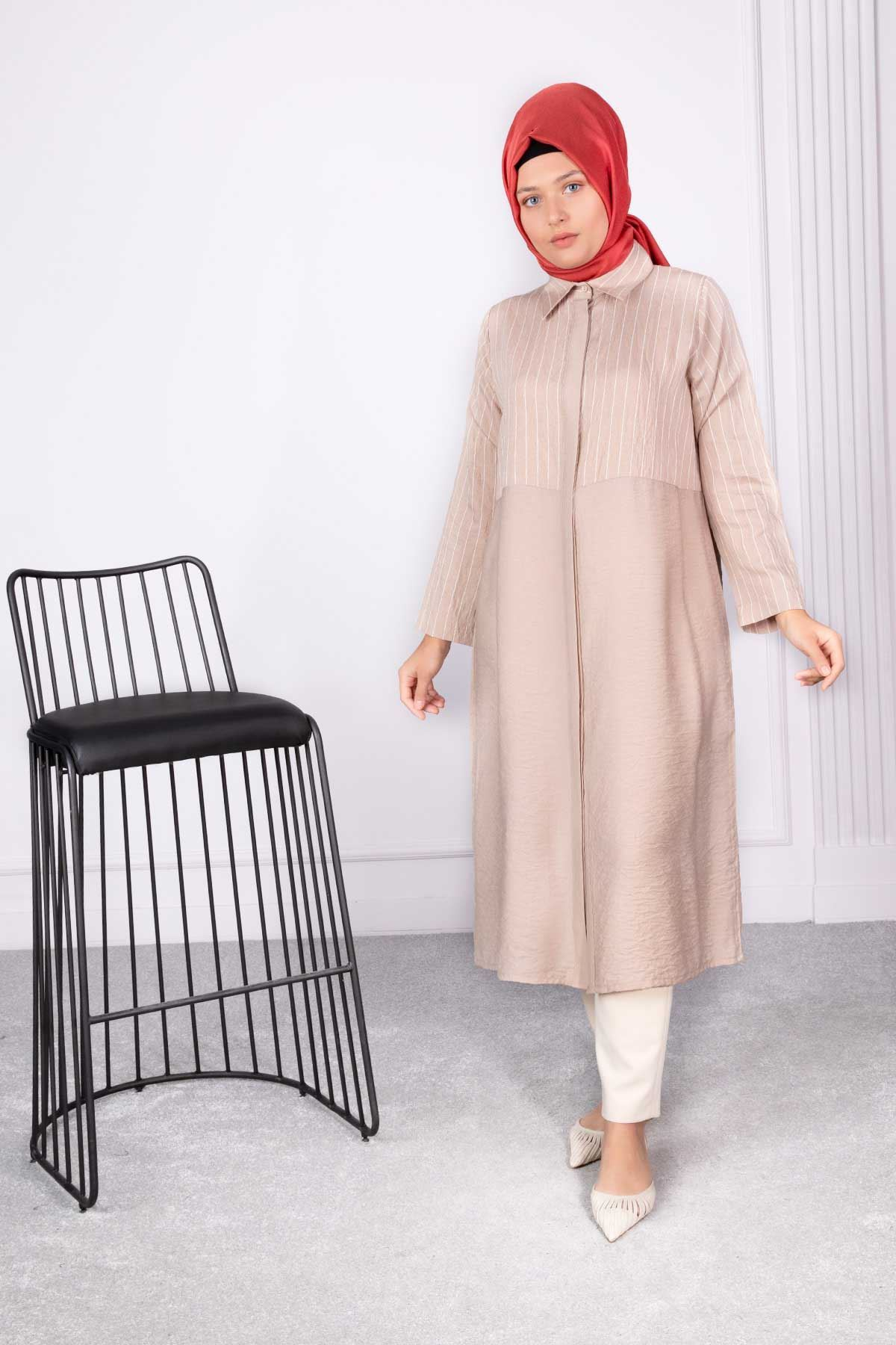 Miray Tunik Bej 23005