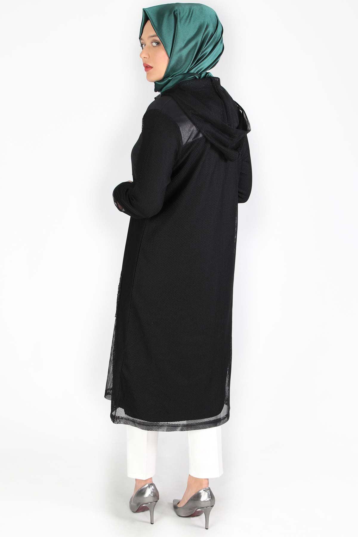 Ruşen Fileli Takım Siyah 45002