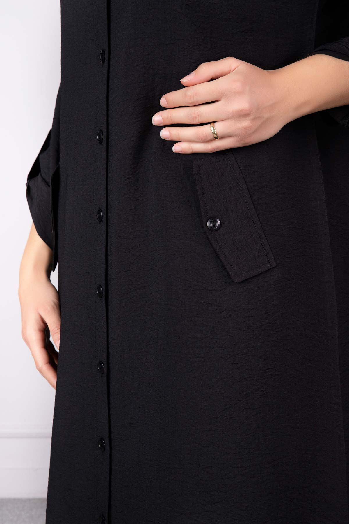 Beliz Tunik Siyah 23004