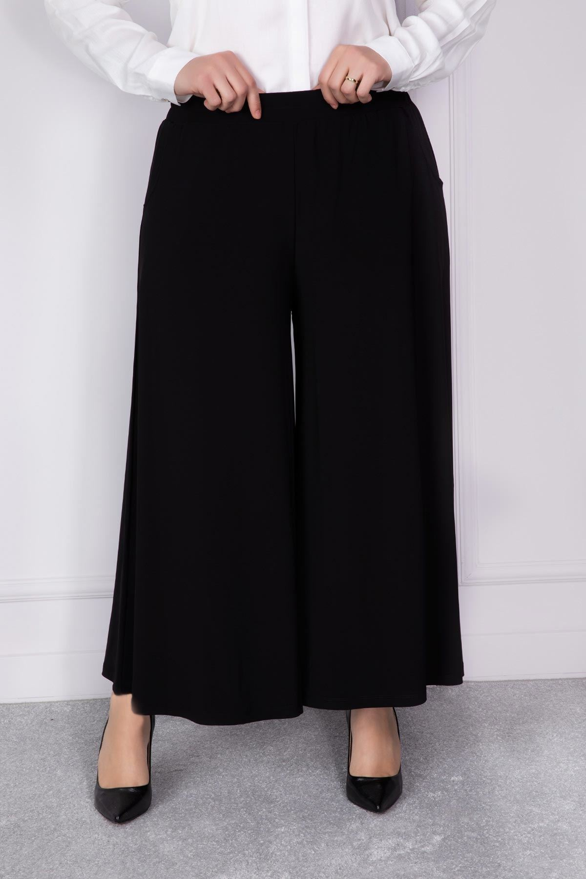 Candy Etek Pantolon Siyah 10001