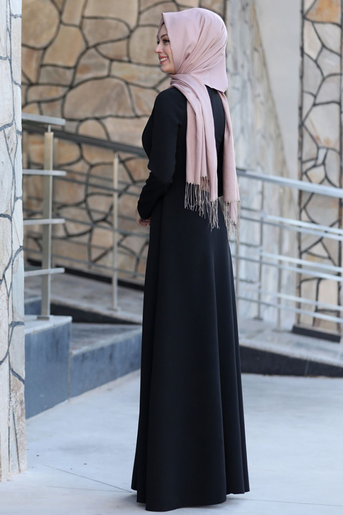 Firuze Elbise Siyah