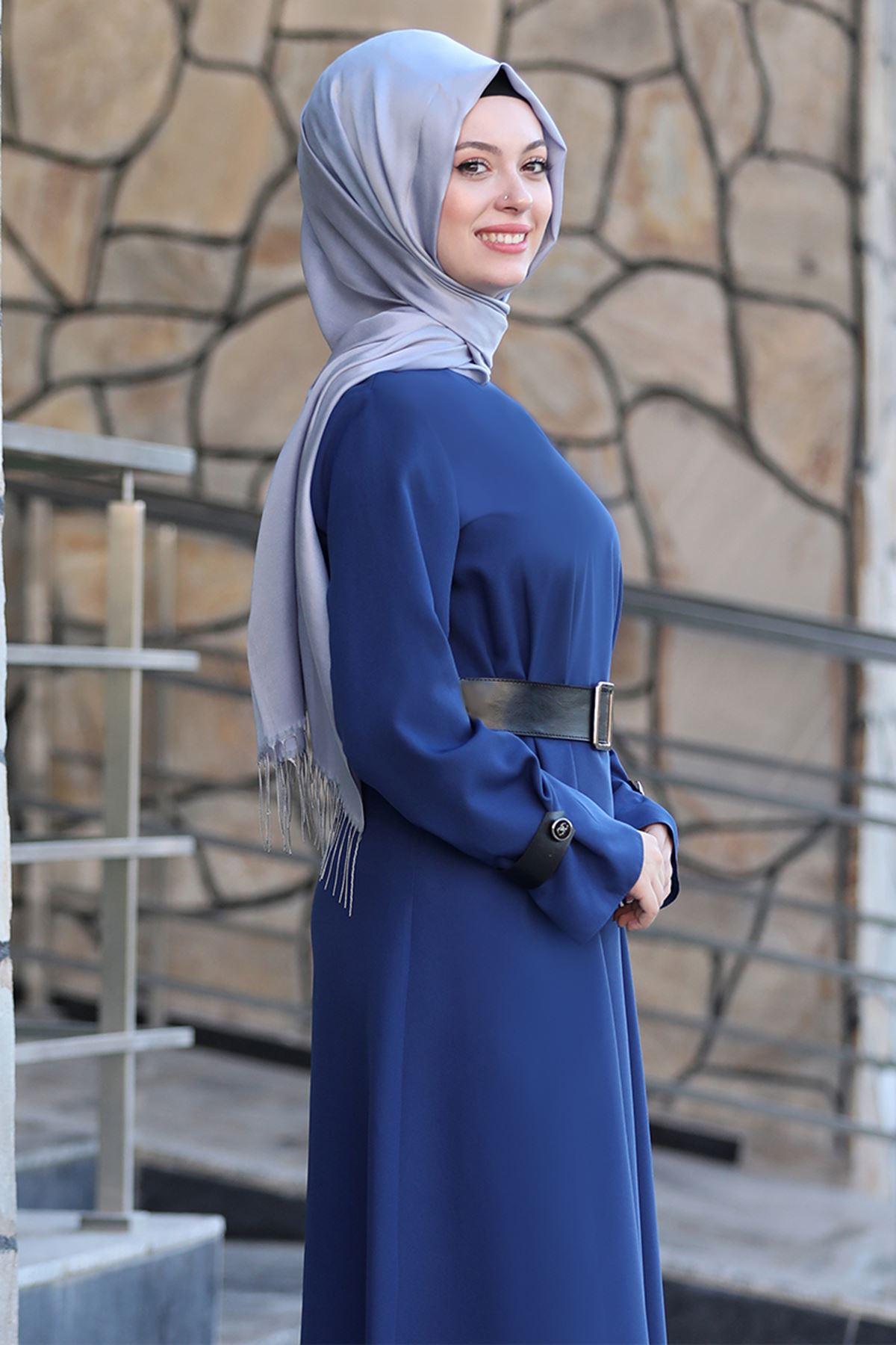 Naz Elbise İndigo