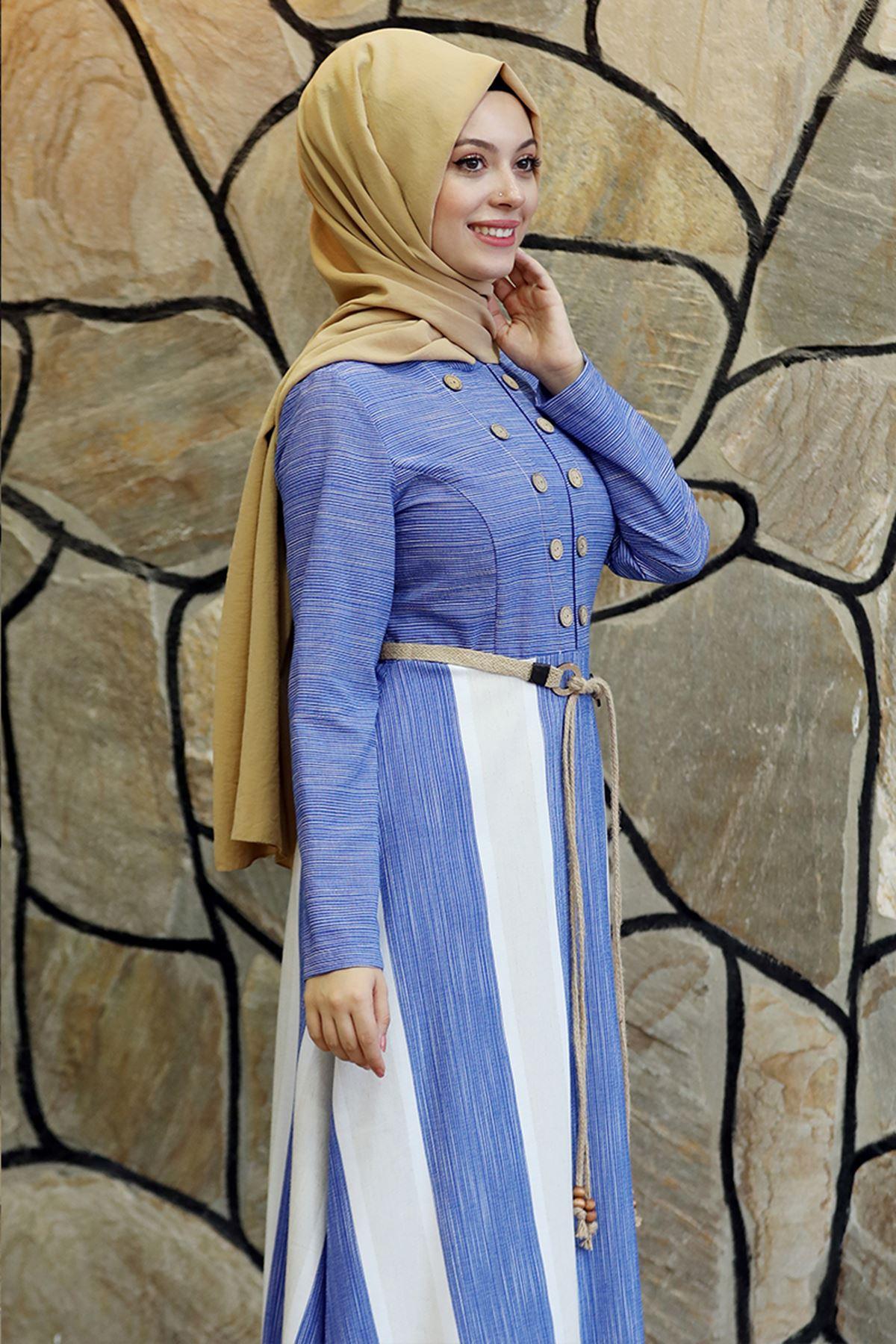 Ebru Elbise İndigo