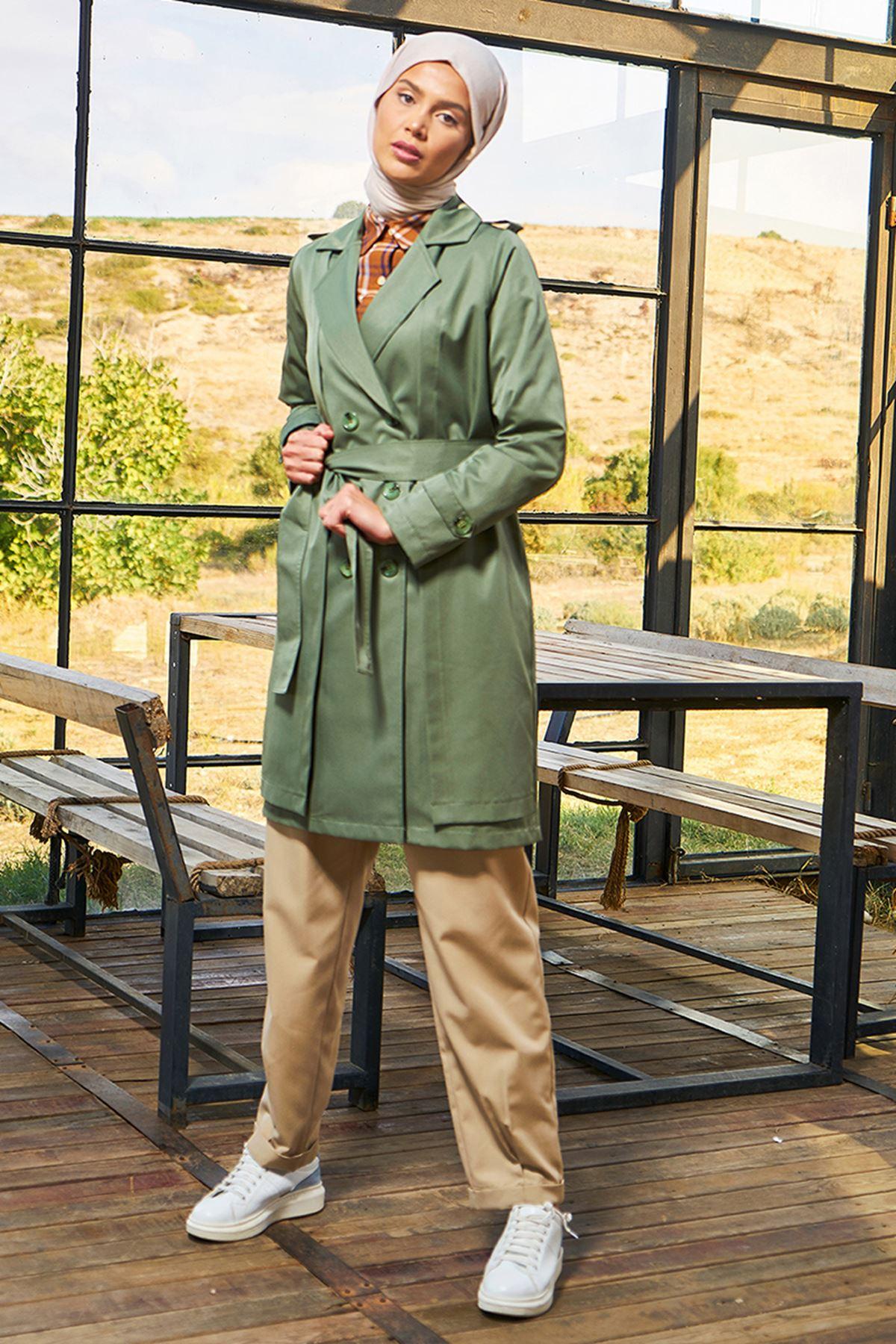 Surikka  Yağmur Treçkot Yeşil SUR5501