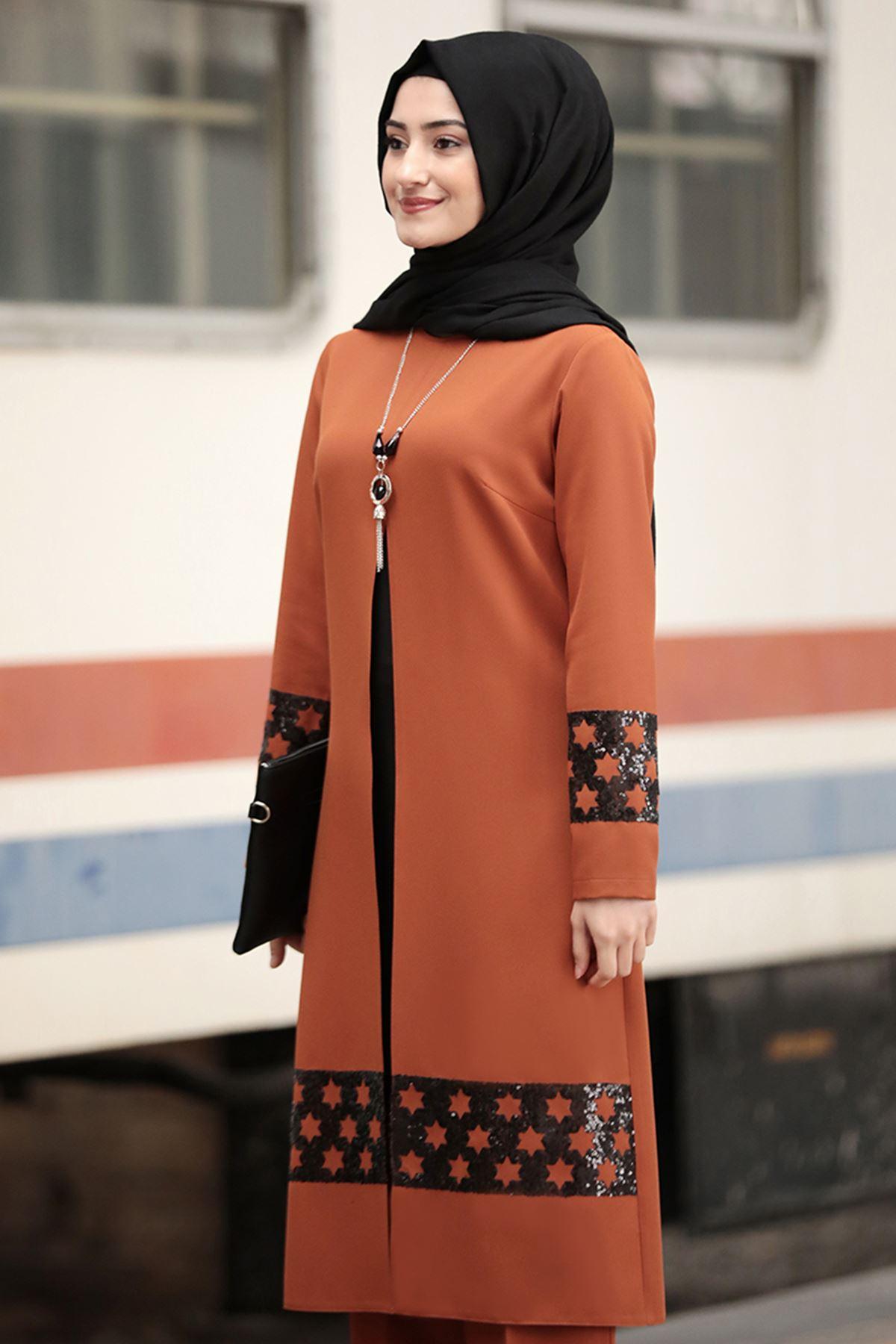 Rabeysa Yıldız İkili Takım Kiremit  RAB8503