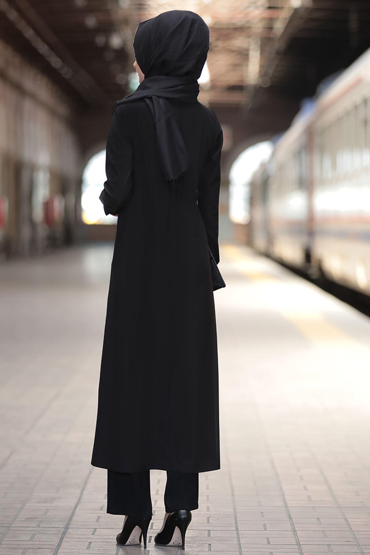 Rabeysa Rümeysa Tunik Siyah RAB8509