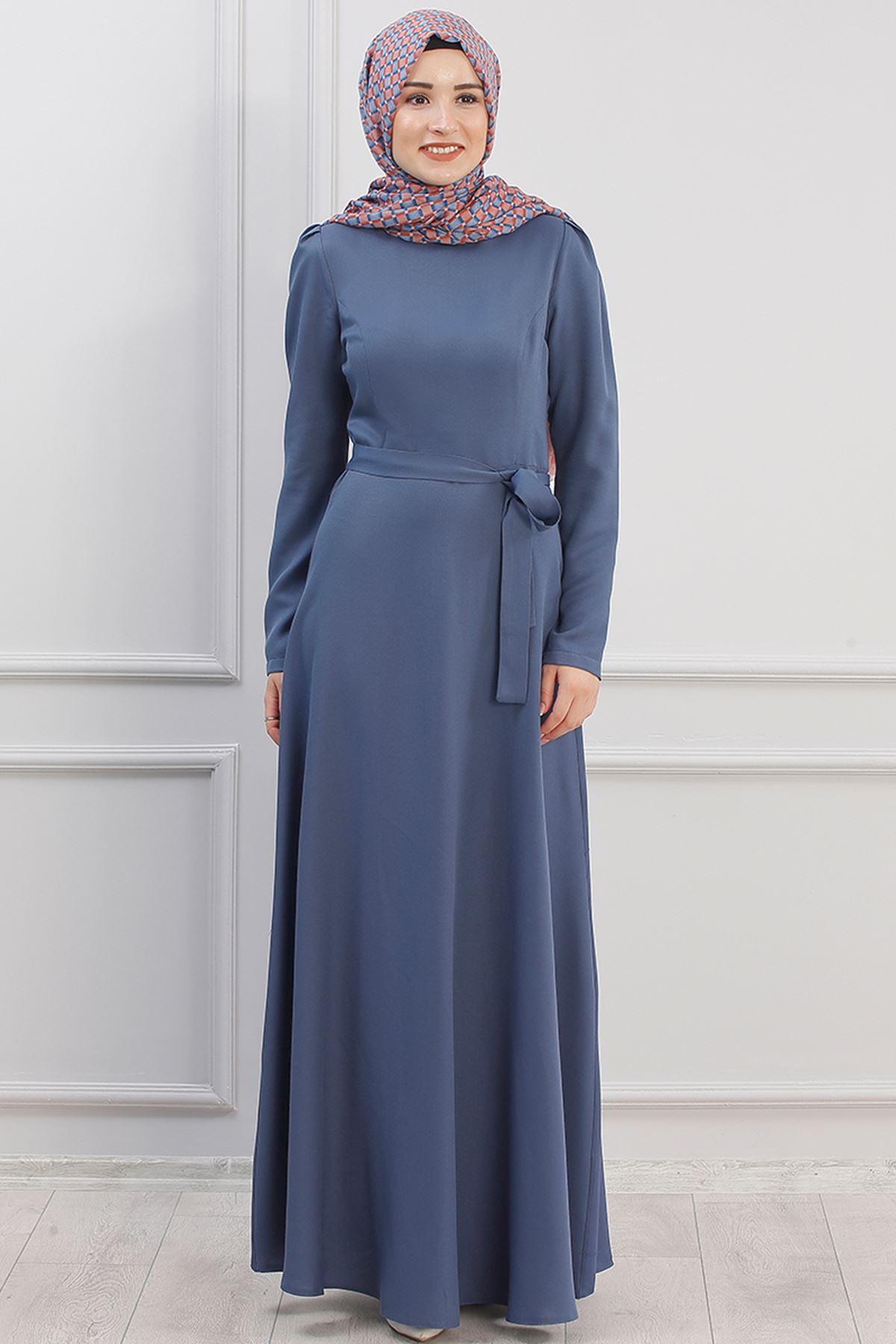 Piennar Hazal Elbise İndigo PİE1501