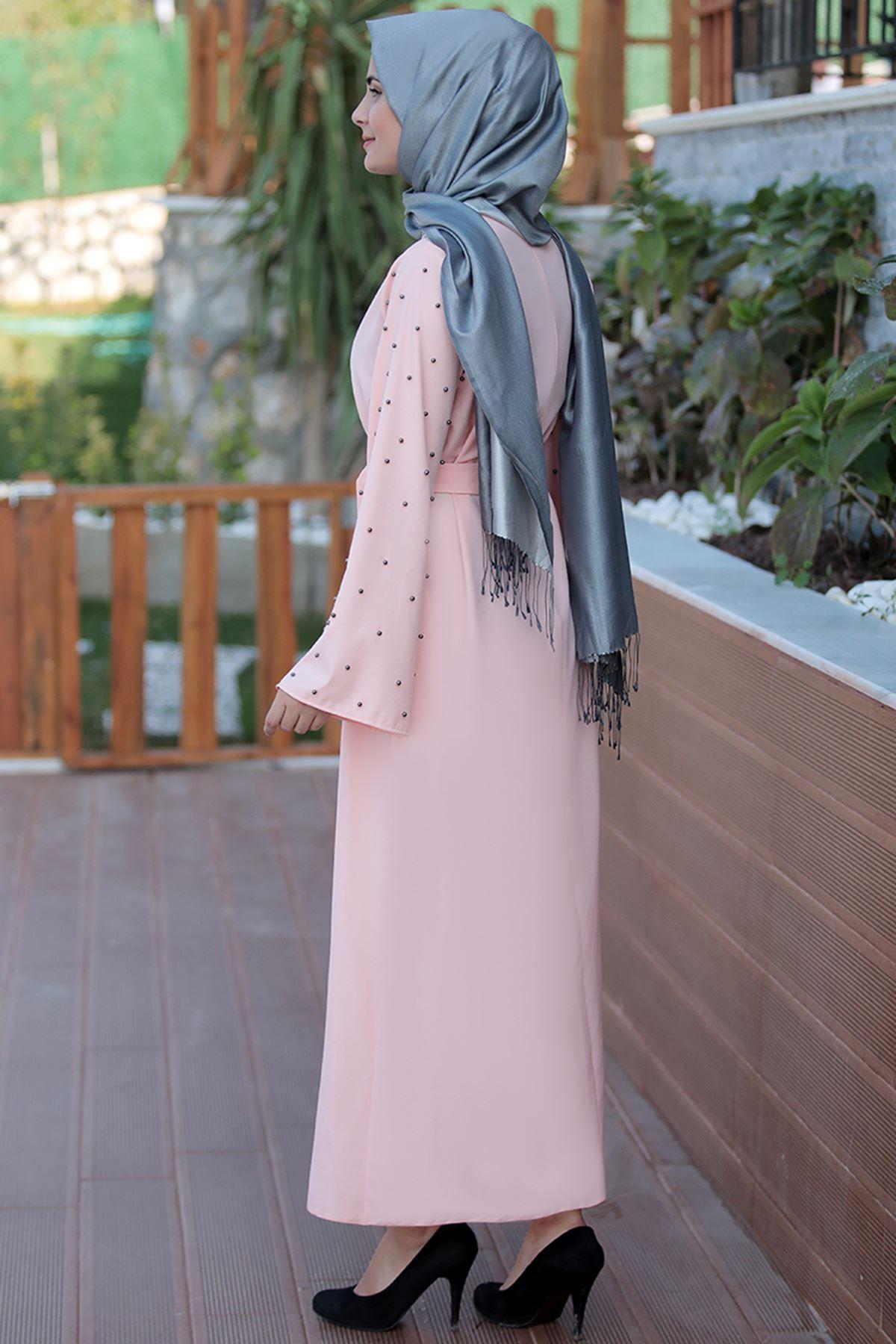Sümay  Hifa Elbise Somon SÜM5015