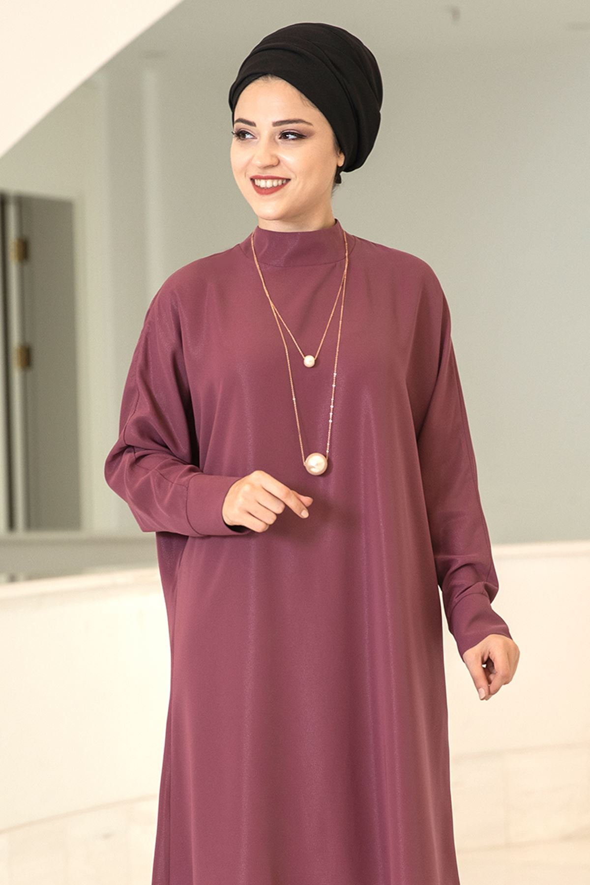 Dresslife Salaş Tunik Gül Kurusu DRE2017