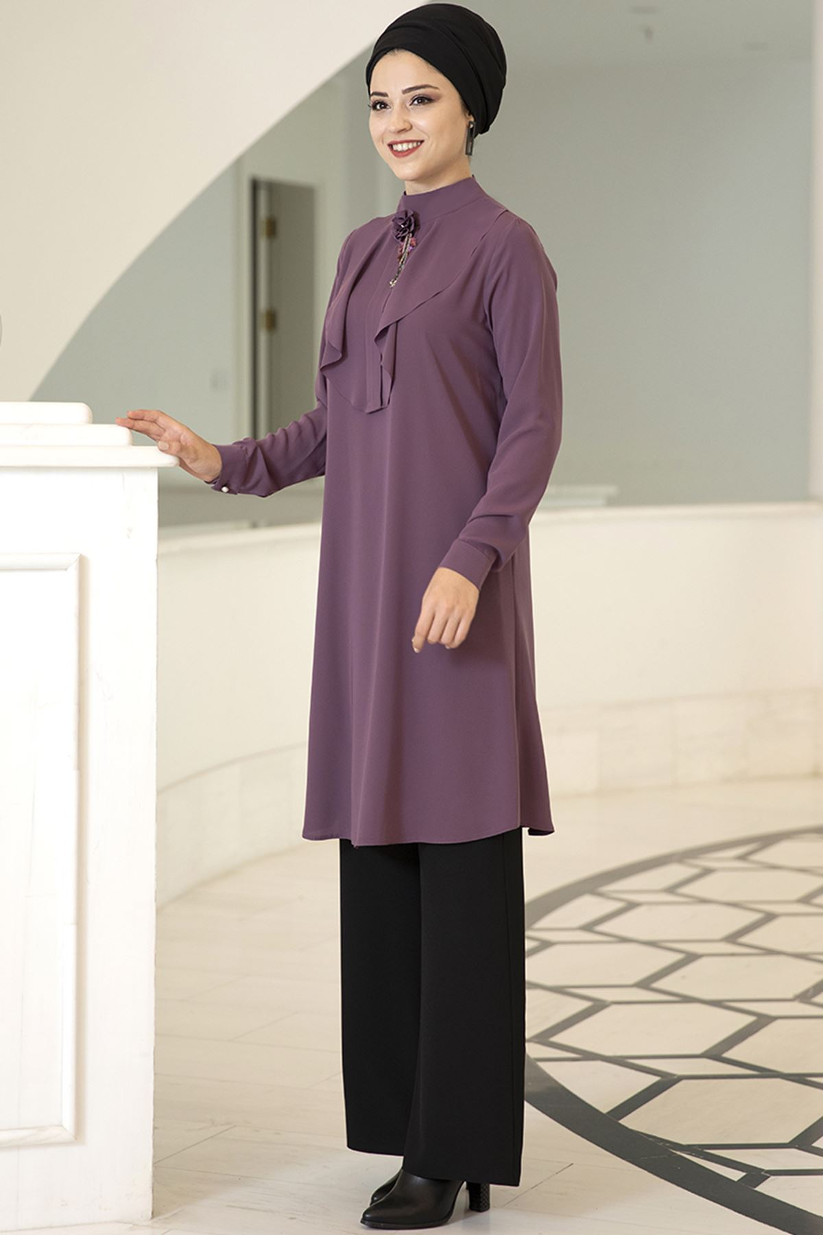 Dresslife Ekin Tunik Mor DRE2012