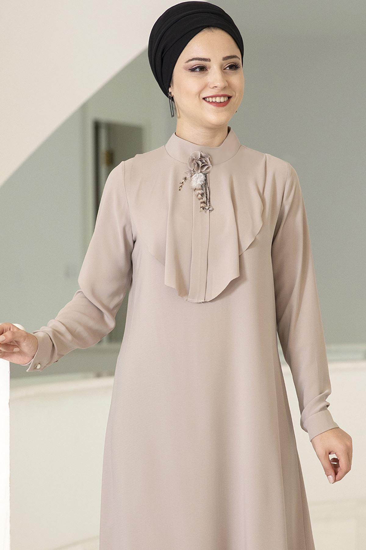 Dresslife Ekin Tunik Bej DRE2012