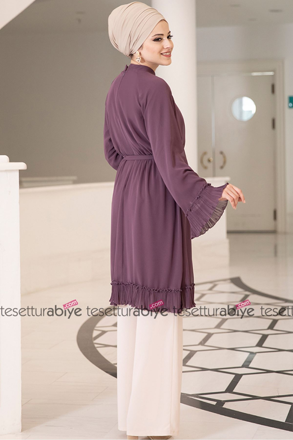 Dresslife Melisa Tunik Gül Kurusu DRE2006