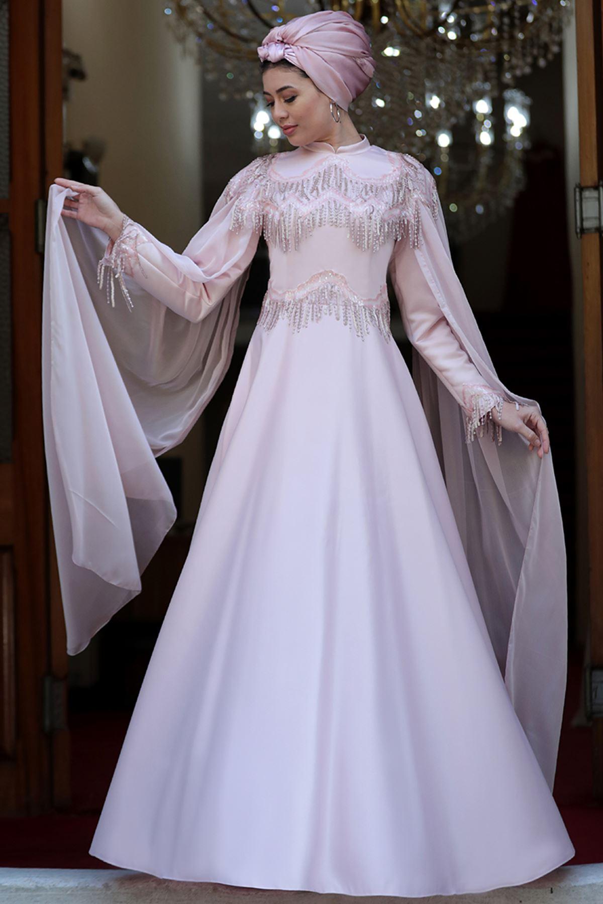 Burak Baran Fashion  Helen Abiye Pudra BUR6704