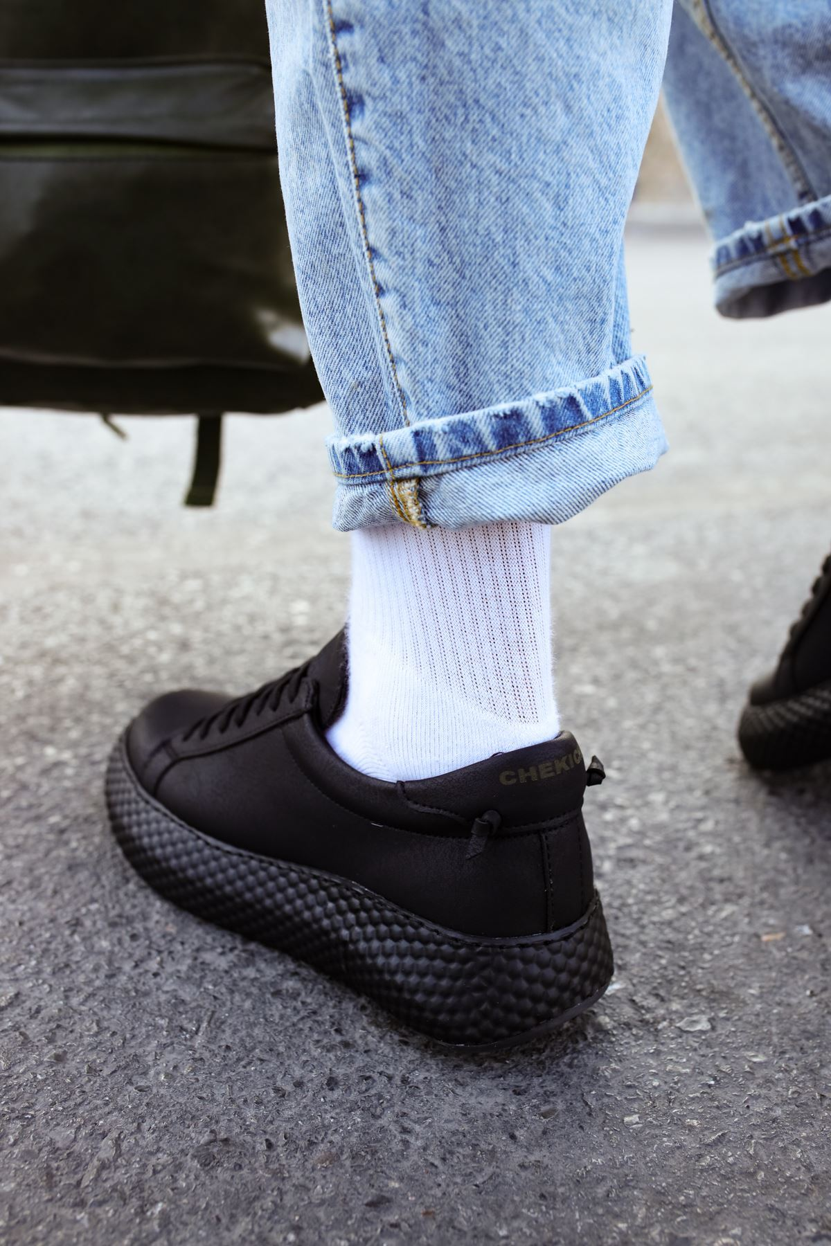 Chekich CH107 GST Erkek Ayakkabı SİYAH/SİYAH