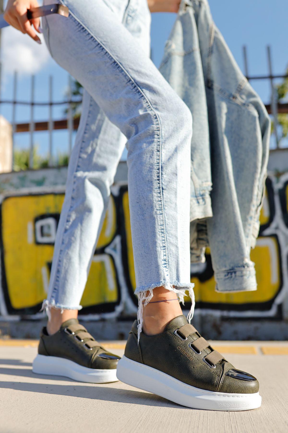 Chekich CH251 BT Kadın Ayakkabı HAKİ