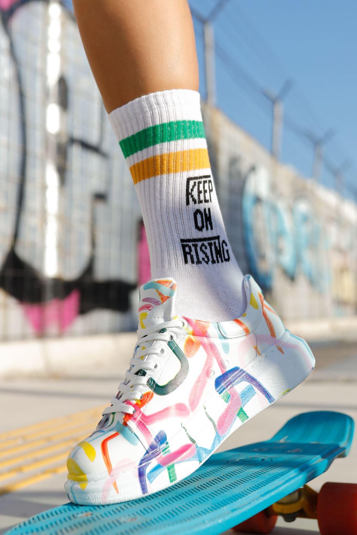Chekich CH255W BT Kadın Ayakkabı HALKA RENKLİ