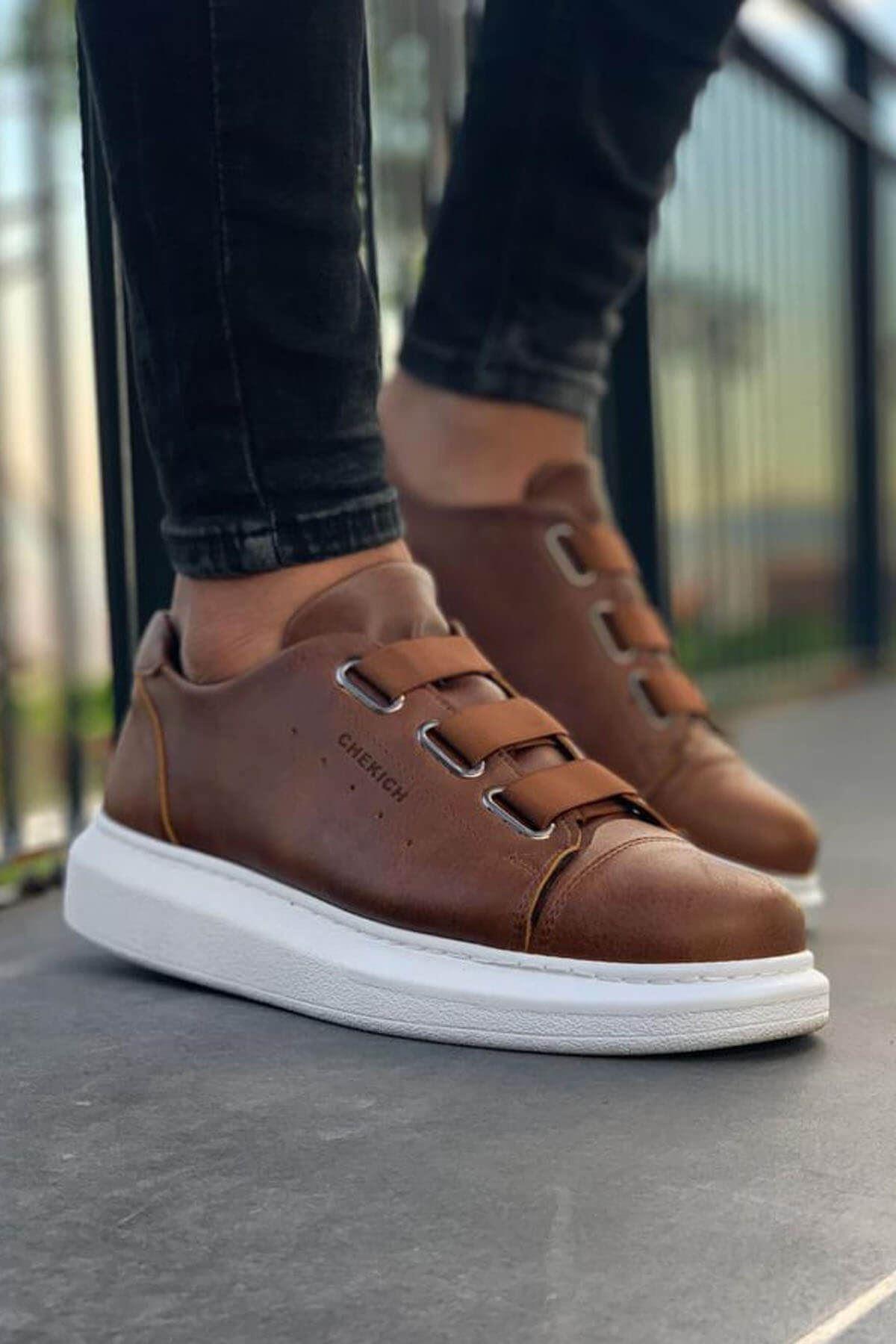 Chekich CH253 BT Erkek Ayakkabı TABA