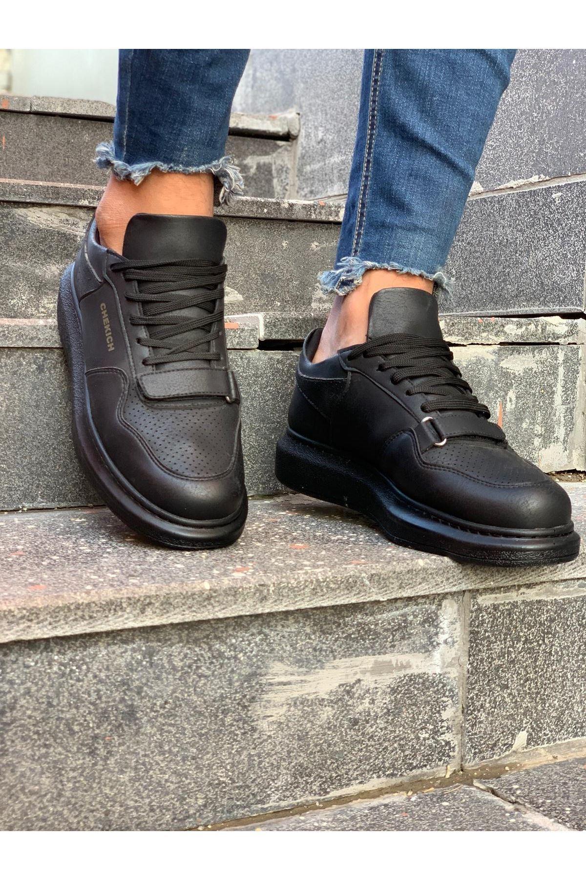 Chekich CH073 ST Erkek Ayakkabı SIYAH