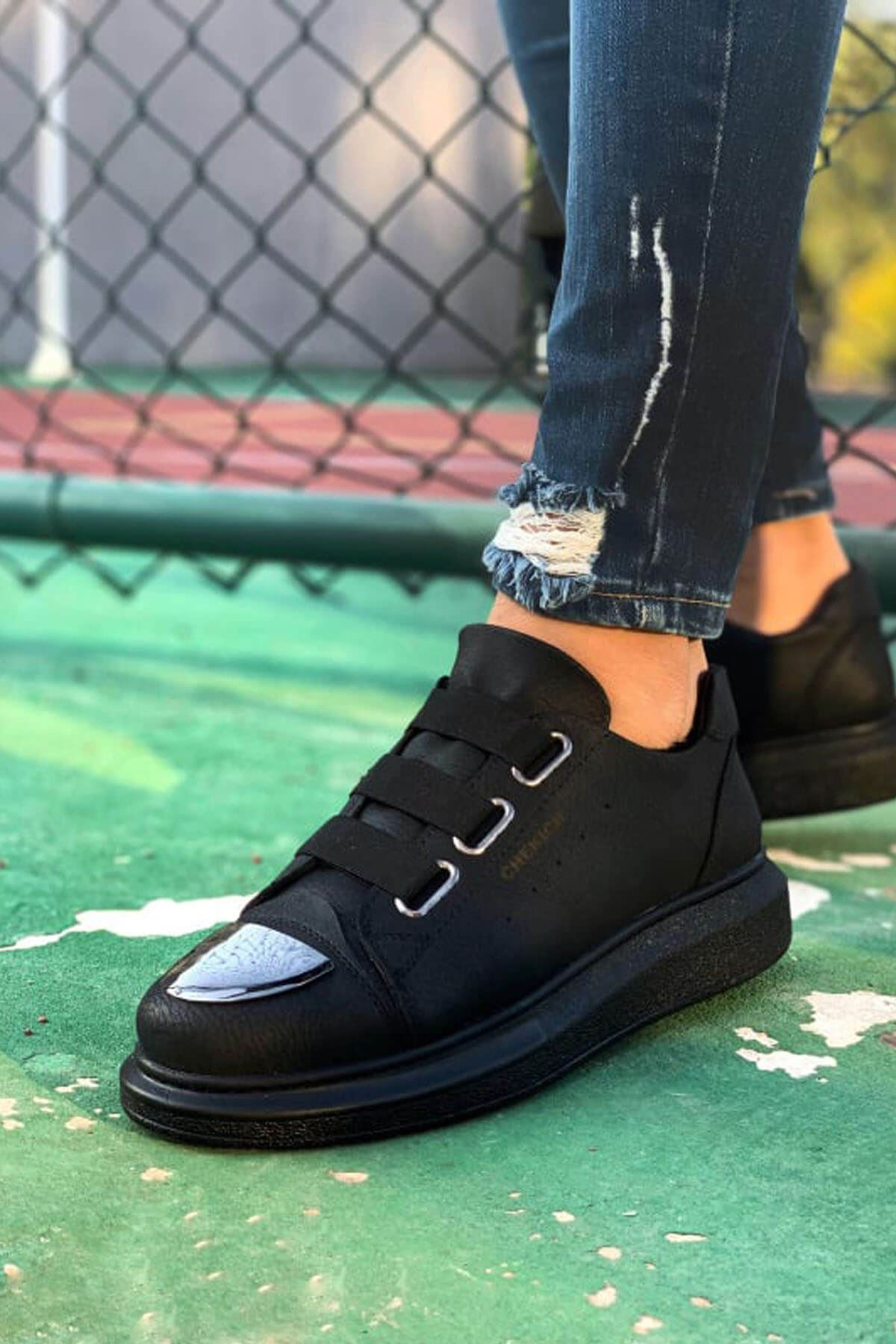 Chekich CH251 ST Erkek Ayakkabı SIYAH