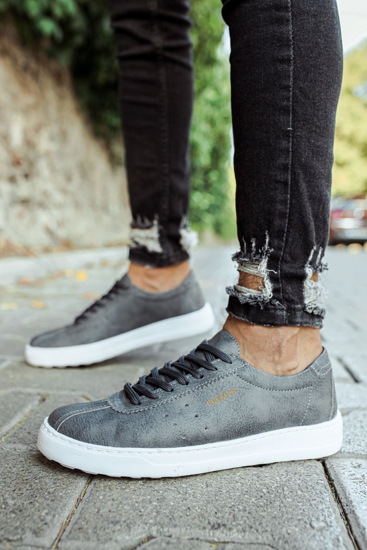 Chekich CH063 BT Erkek Ayakkabı ANTRASİT