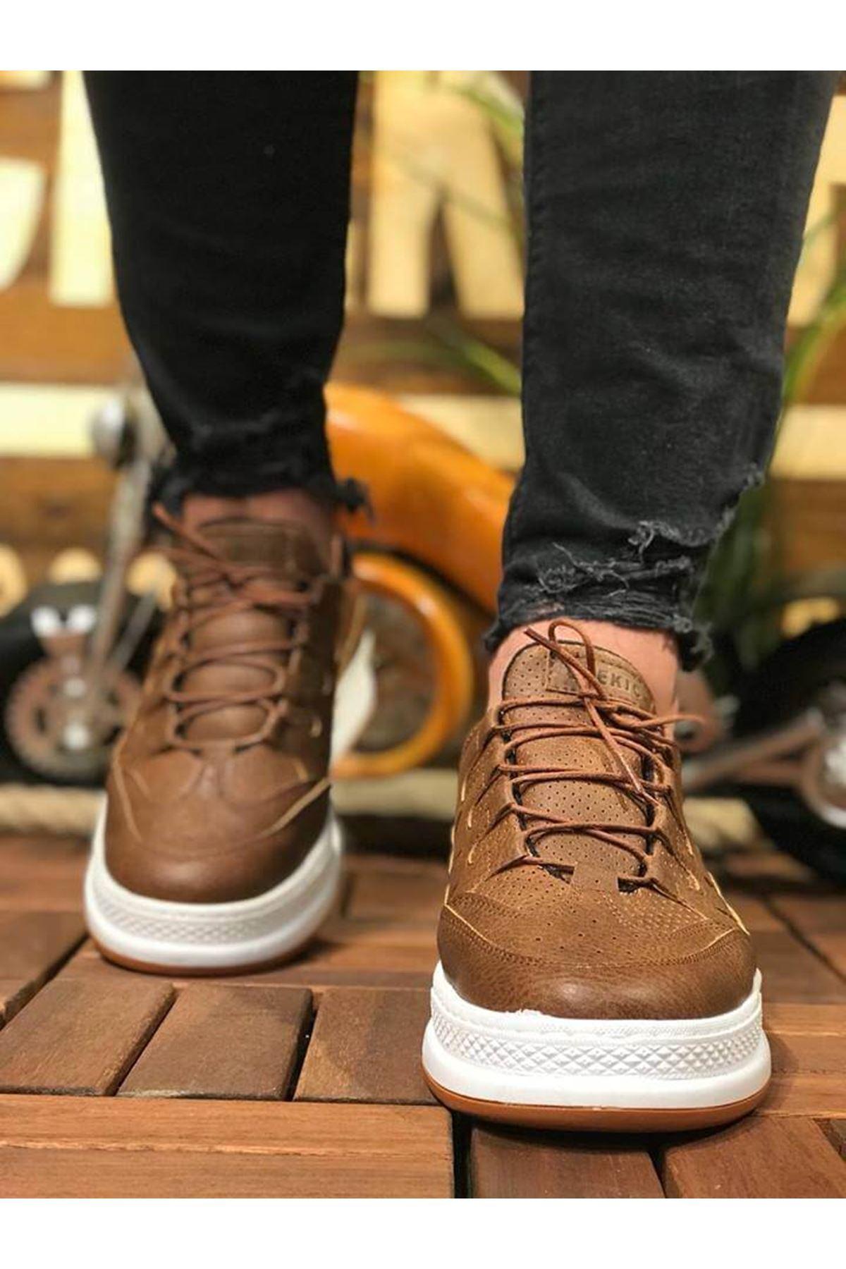 Chekich CH040 BT Erkek Ayakkabı TABA