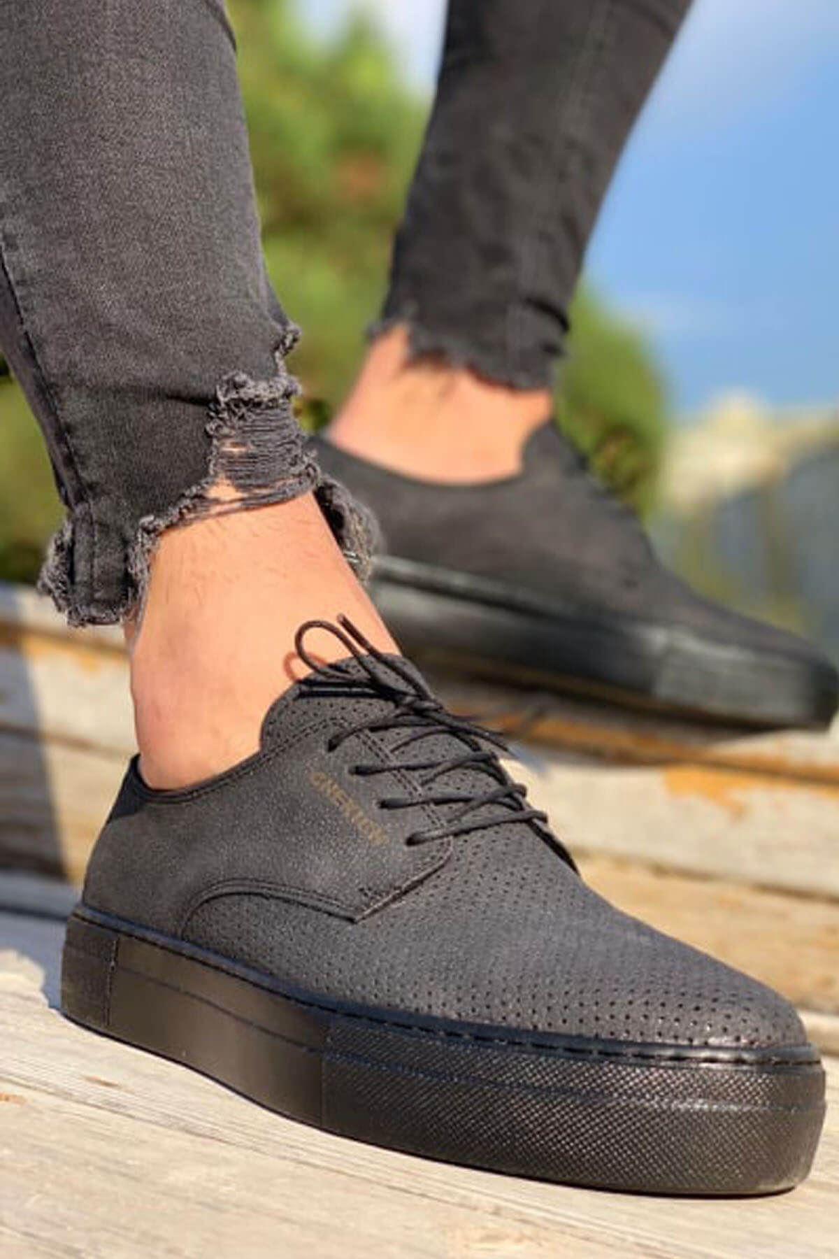 Chekich CH061 ST Erkek Ayakkabı SIYAH