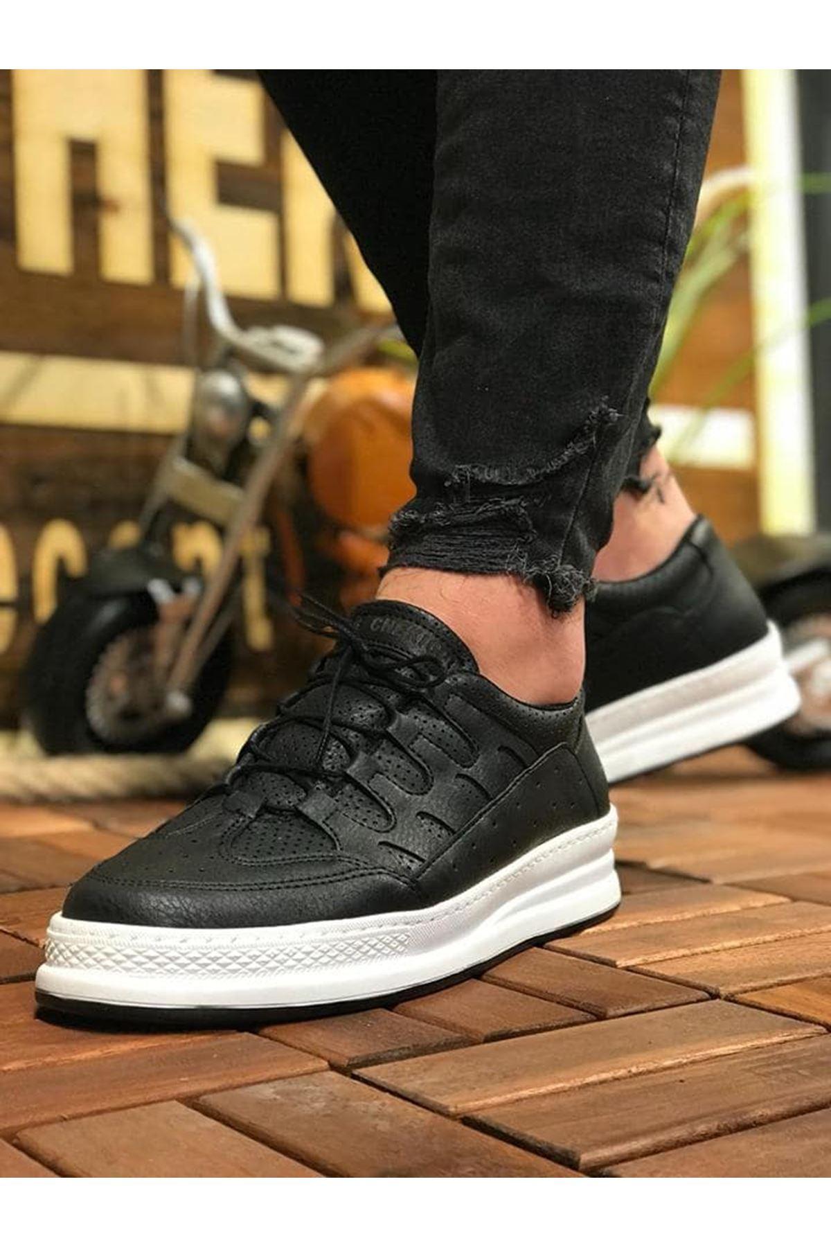 Chekich CH040 BT Erkek Ayakkabı SIYAH