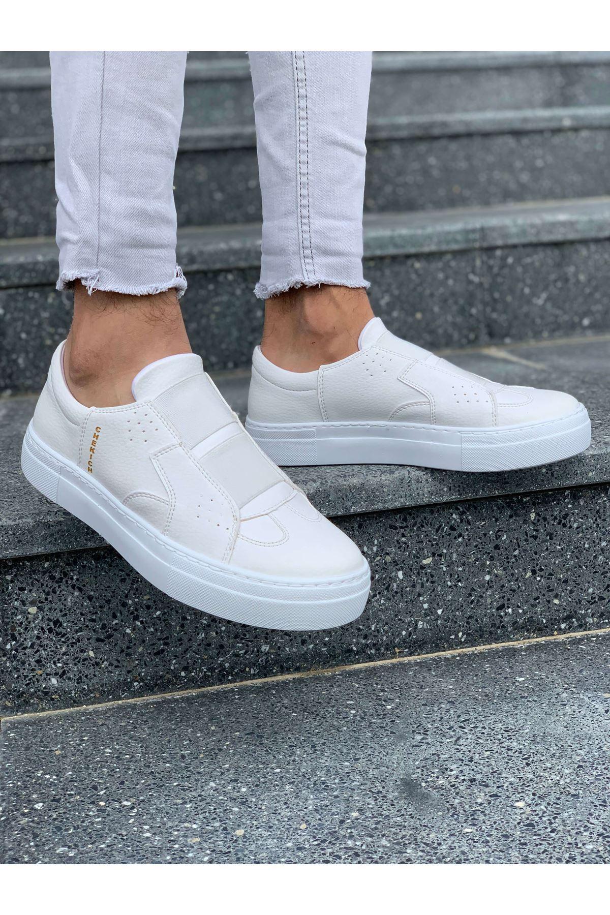Chekich CH033 BT Erkek Ayakkabı BEYAZ