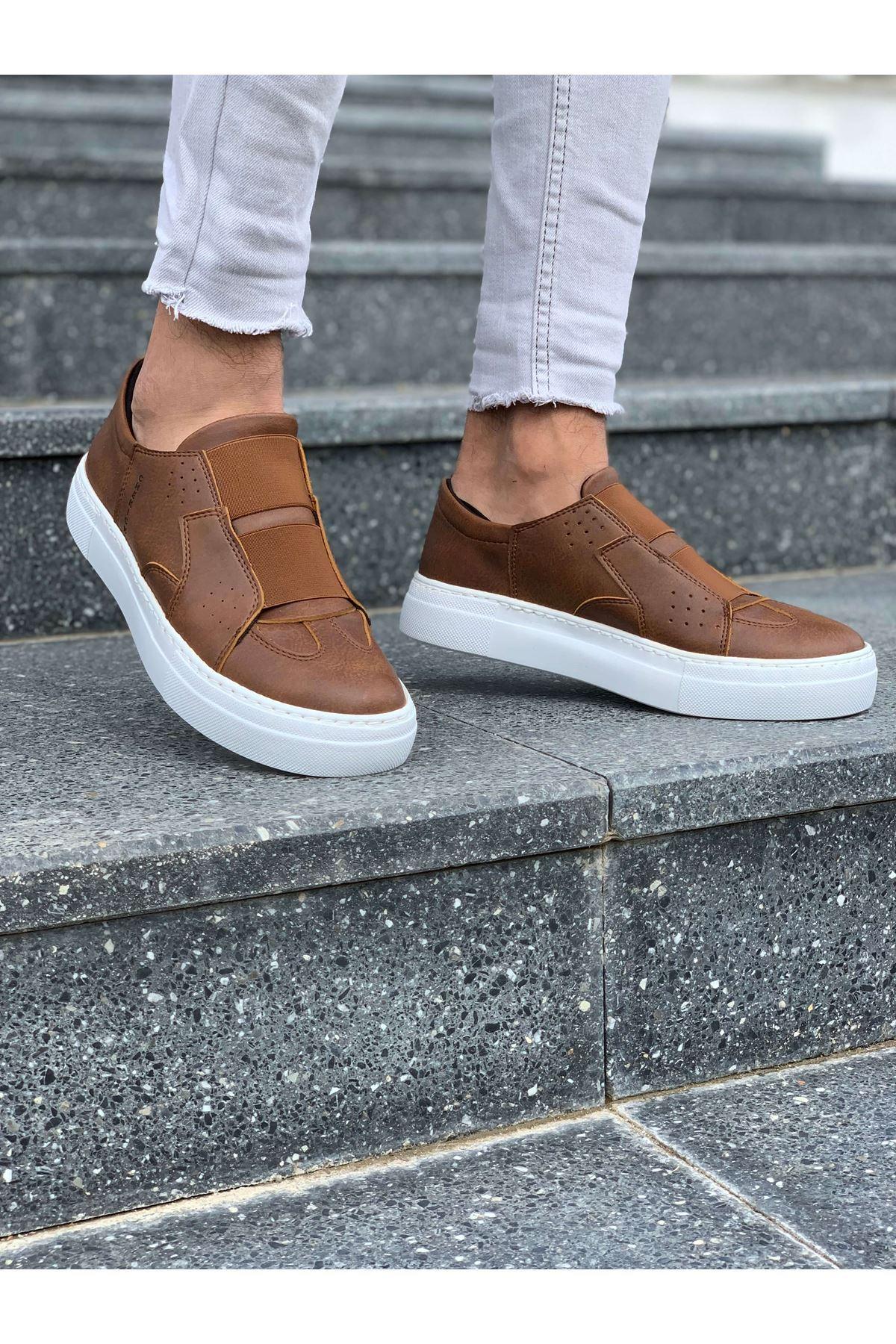Chekich CH033 BT Erkek Ayakkabı TABA