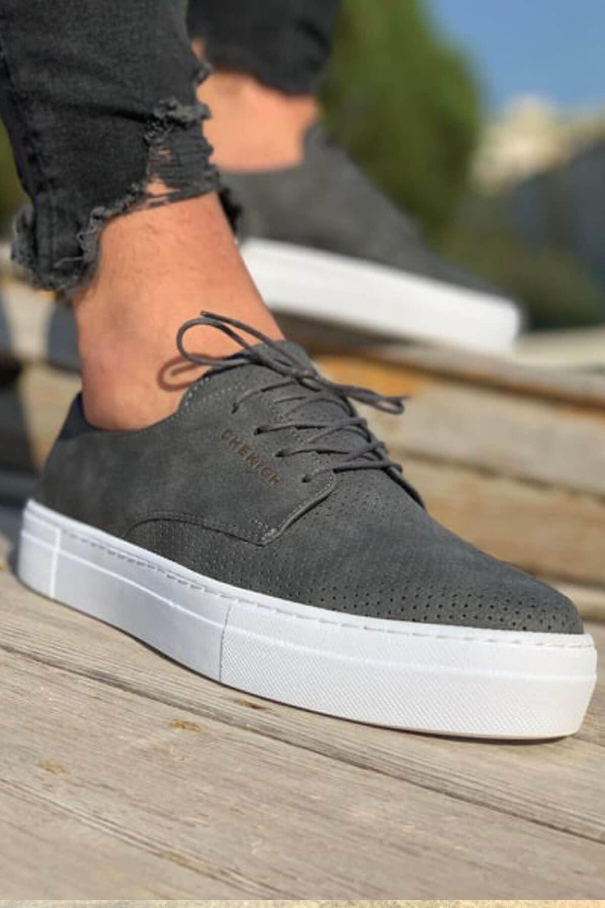 Chekich CH061 BT Erkek Ayakkabı ANTRASİT